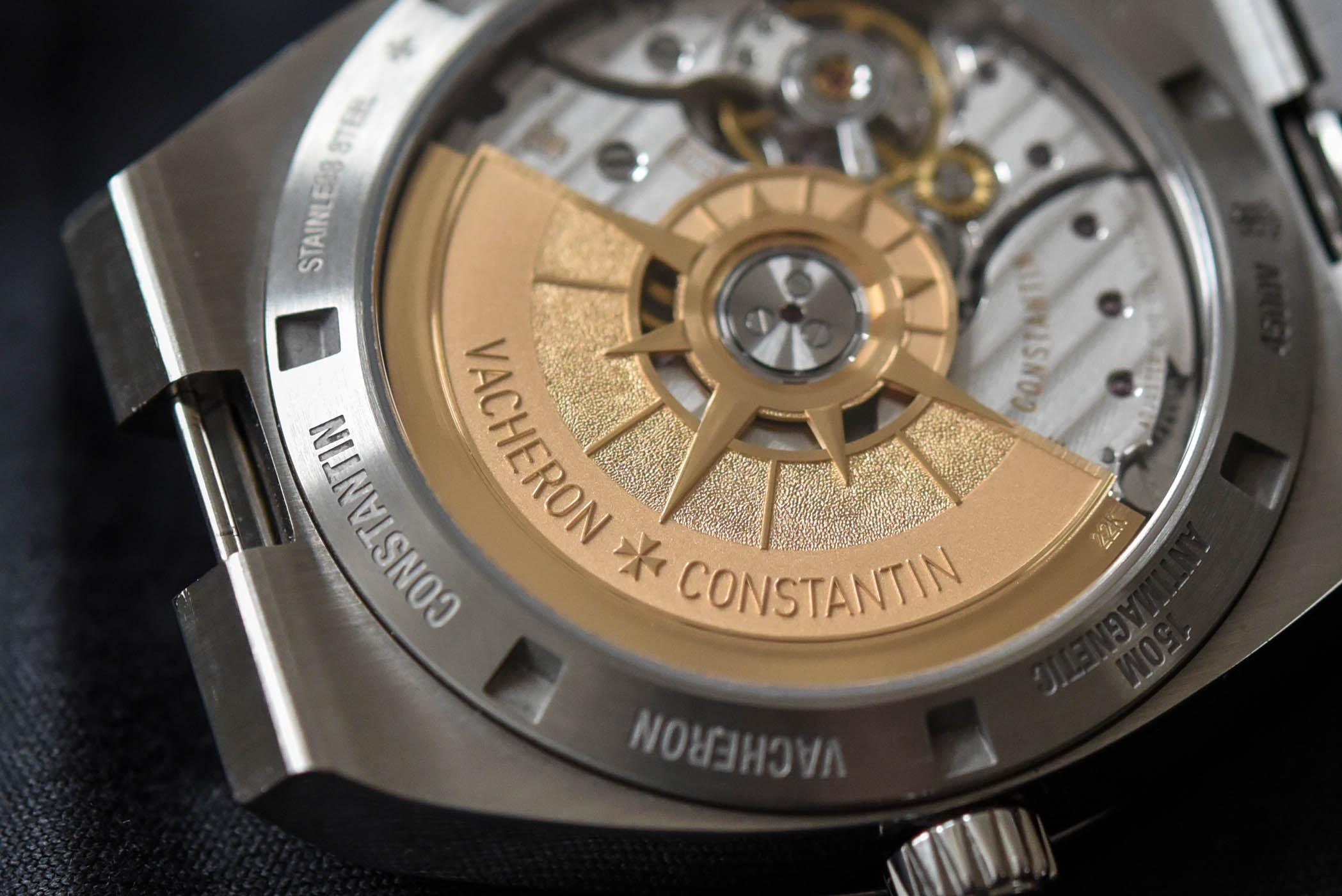 Vacheron Constantin Overseas Automatic 4500V black dial - 14