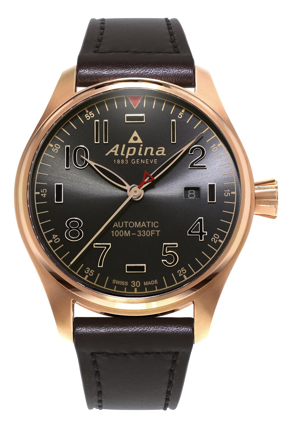 Alpina Startimer Pilot Automatic Shadow line - 4