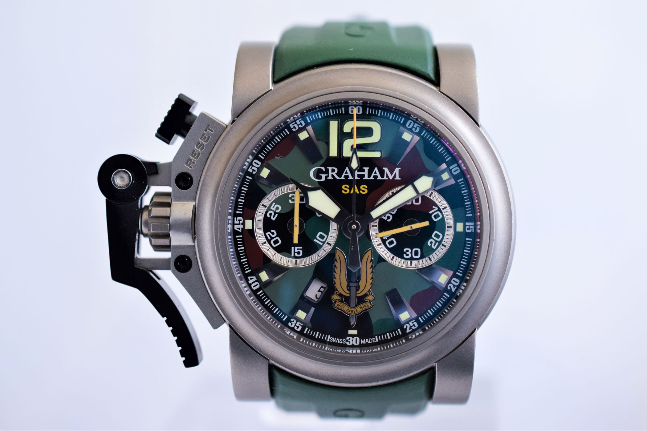 Graham Chronofighter Trigger explained - 9