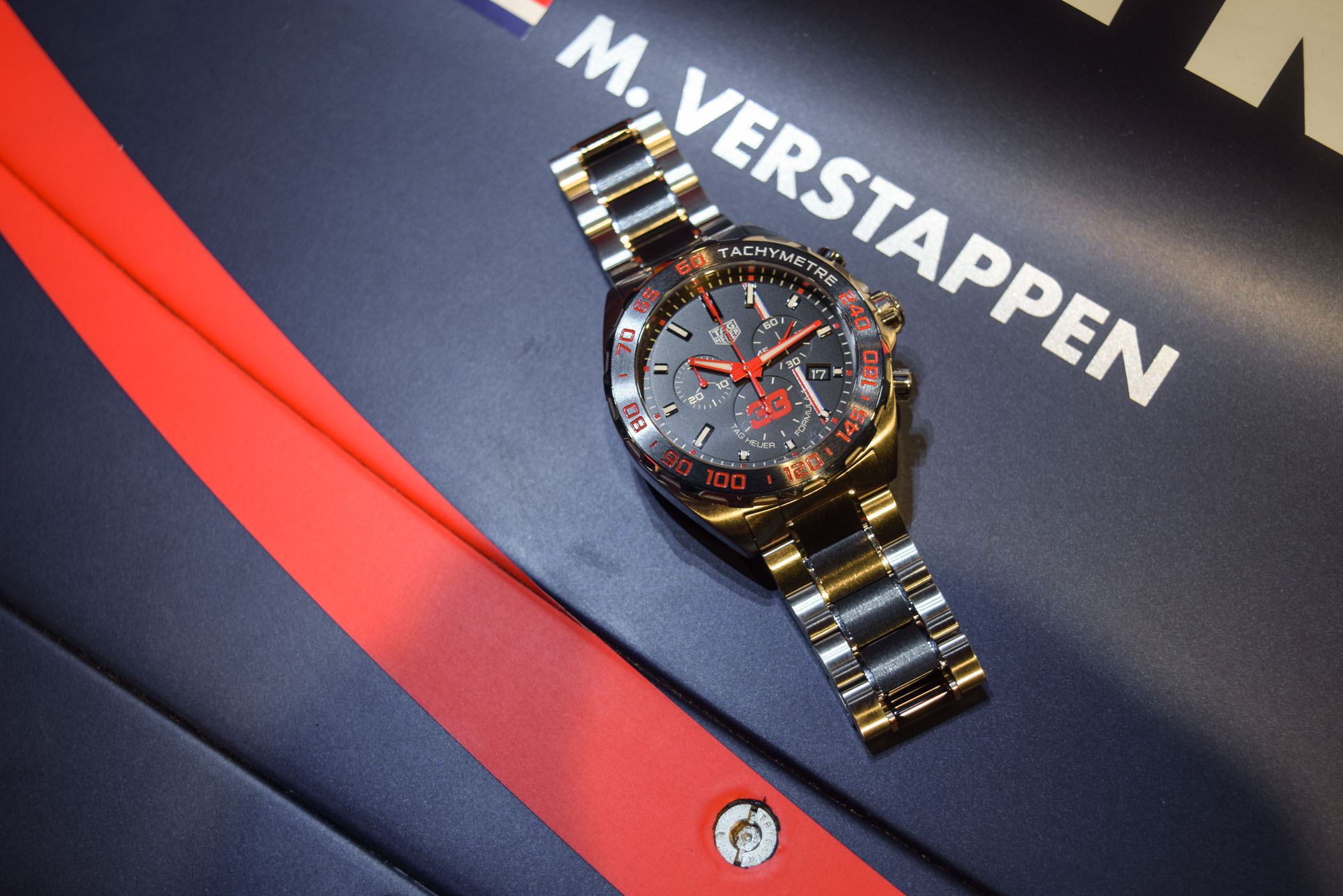Interview Max Verstappen and 2018 TAG Heuer Verstappen Edition - 3