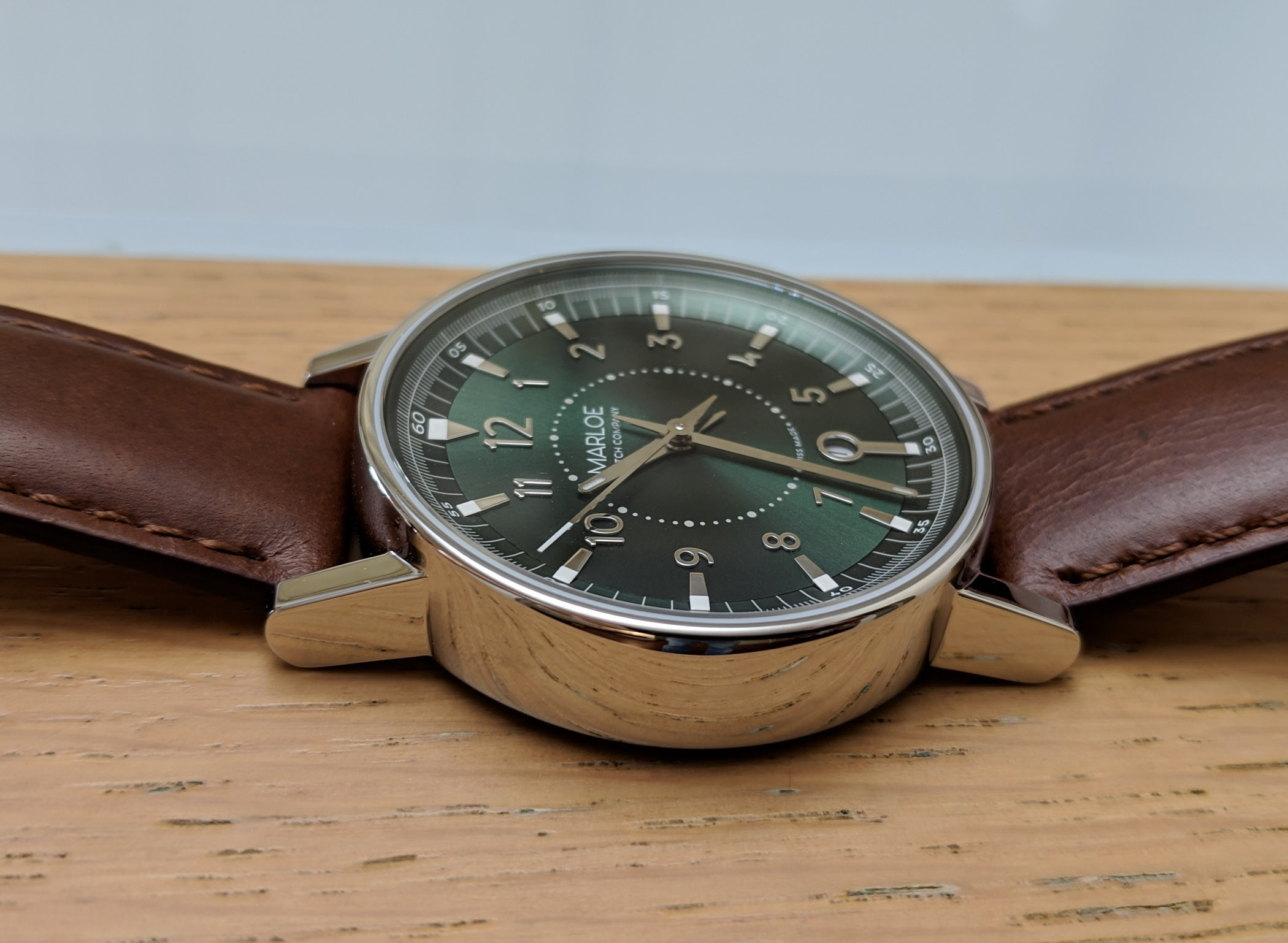 Marloe Watch Company Haskell hand-wound ETA - review - 3