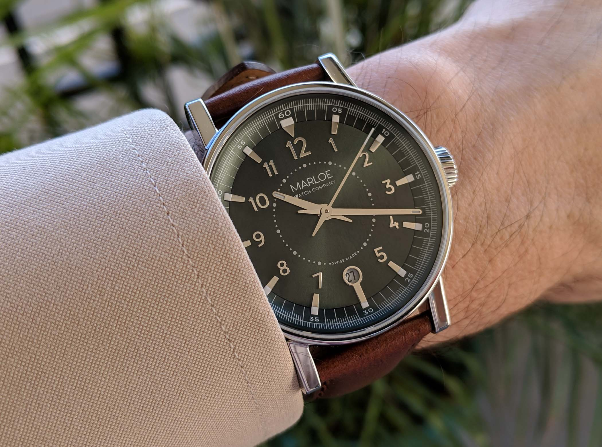 Marloe Watch Company Haskell hand-wound ETA - review - 4