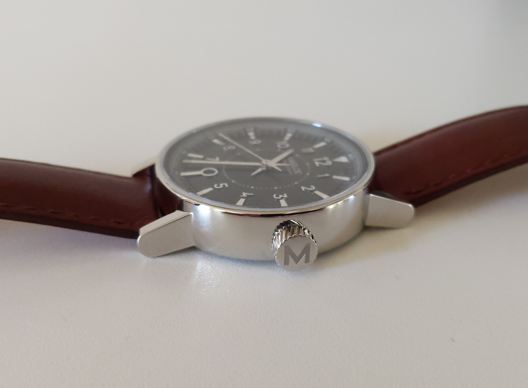 Marloe Watch Company Haskell hand-wound ETA - review - 6