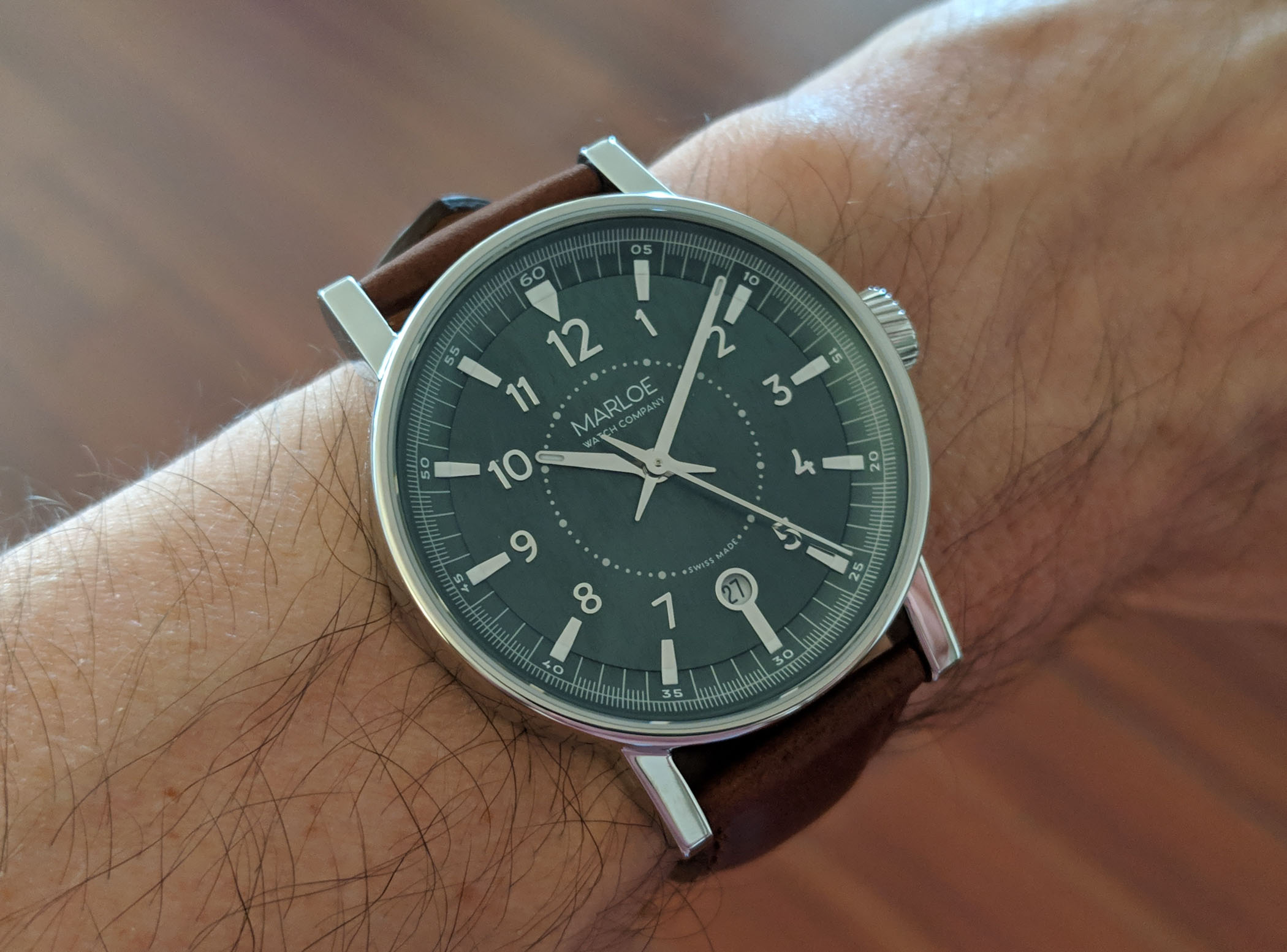 Marloe Watch Company Haskell hand-wound ETA - review - 7