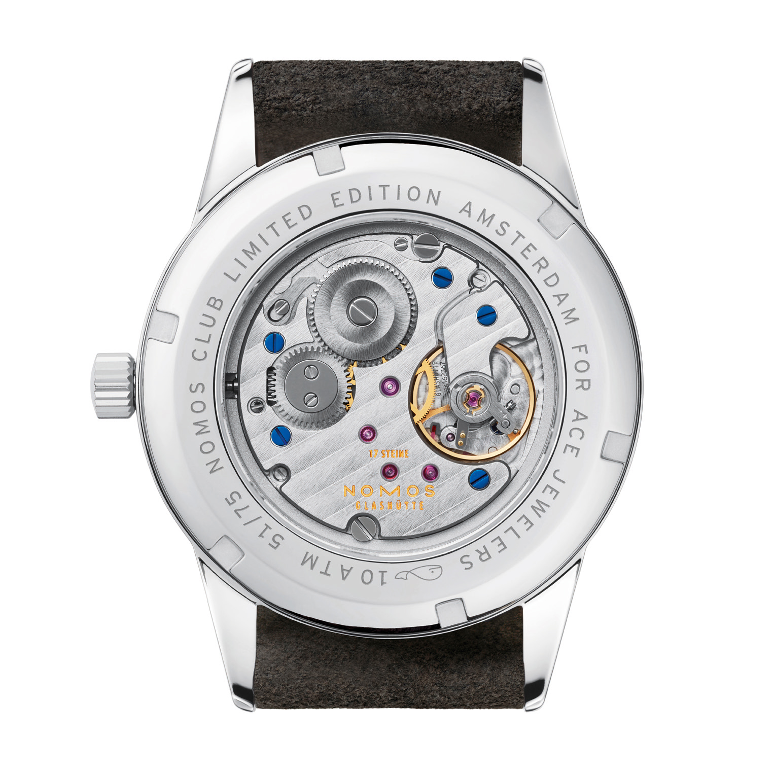 Nomos Club Campus Amsterdam Limited Edition by Ace Jewelers