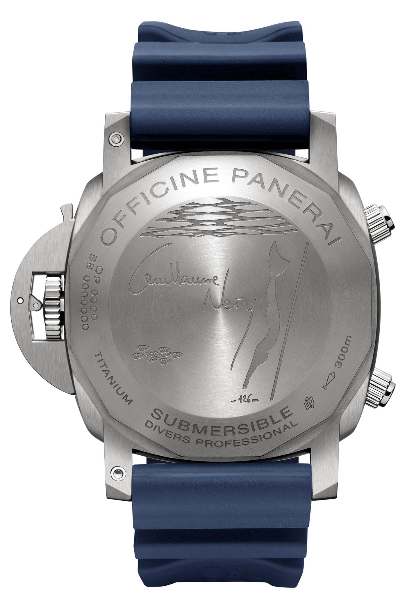 Panerai Submersible Chrono Guillaume Nery Edition PAM00982 - Pre-SIHH 2019