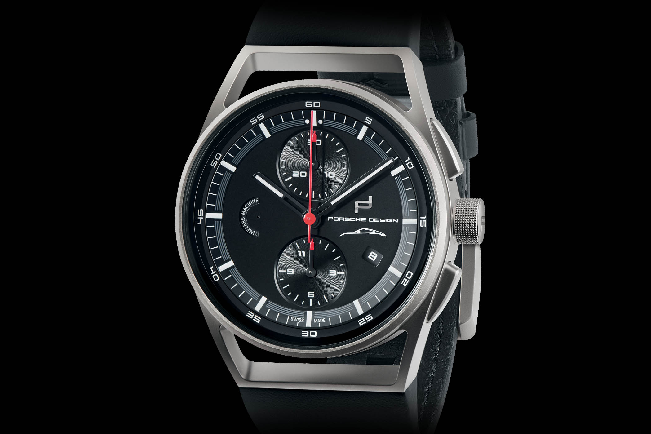 09f77adf8e69 Porsche Design brings the latest Porsche 911 to your wrist with this new  911 Chronograph Timeless Machine Limited Edition.