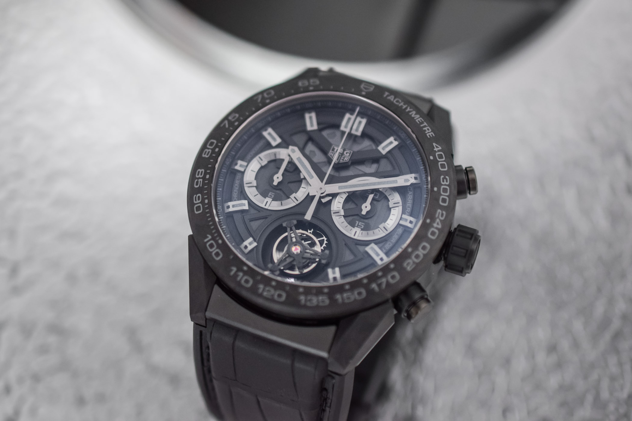 TAG Heuer Carrera Carbon Tourbillon Phantom Heuer 02T - 3