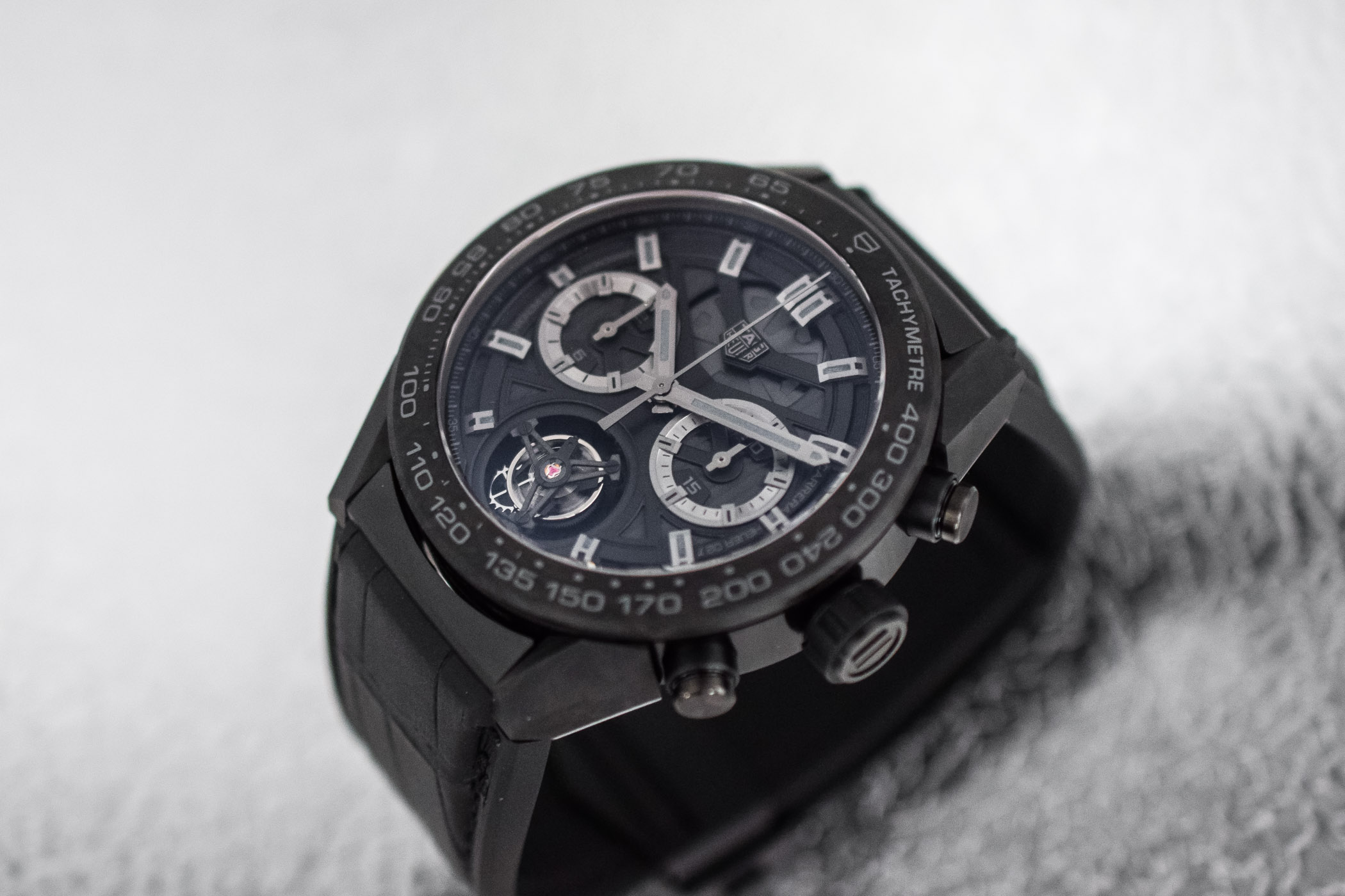 TAG Heuer Carrera Carbon Tourbillon Phantom Heuer 02T - 4