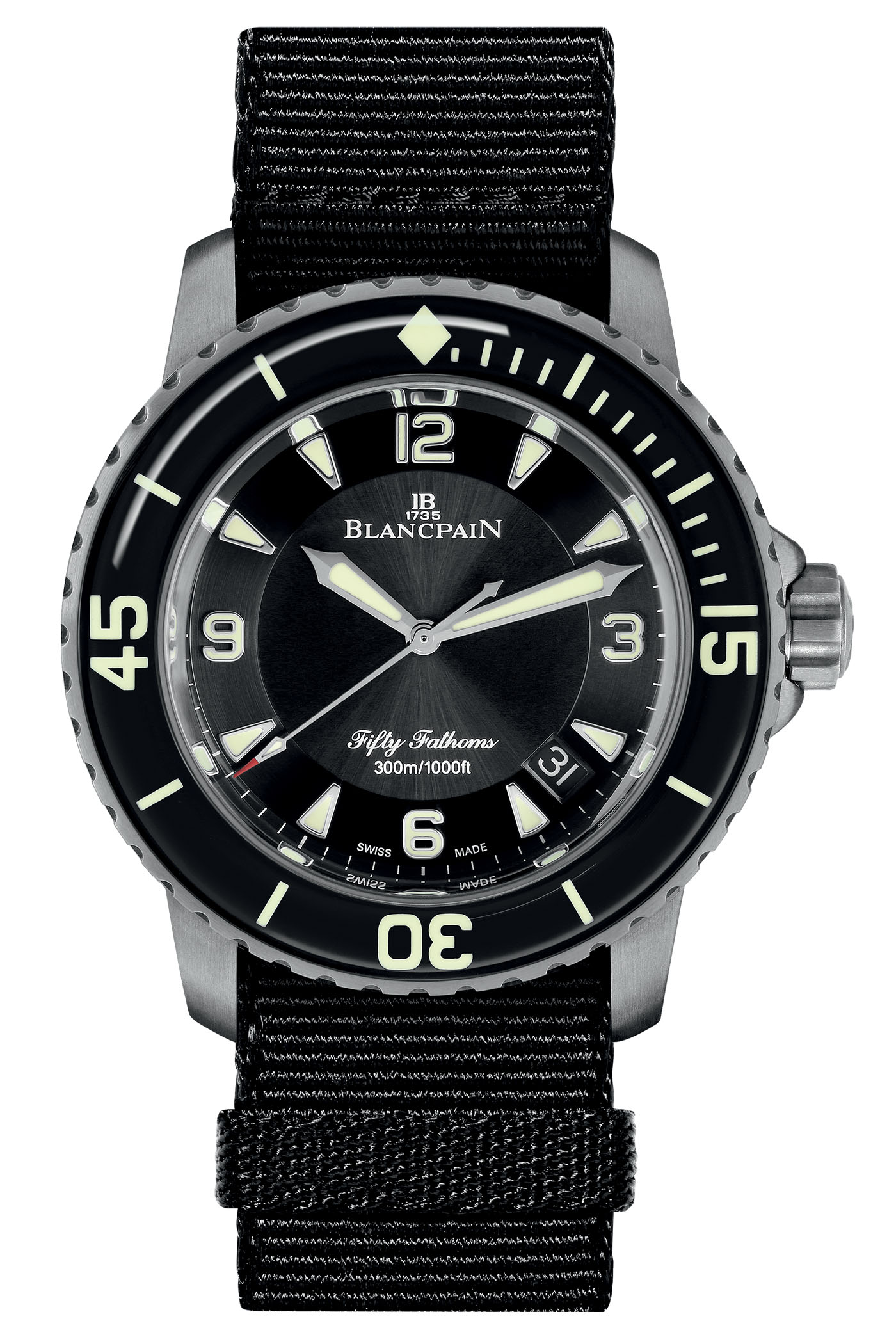 Blancpain Fifty Fathoms Automatique 5015 Titanium - 1