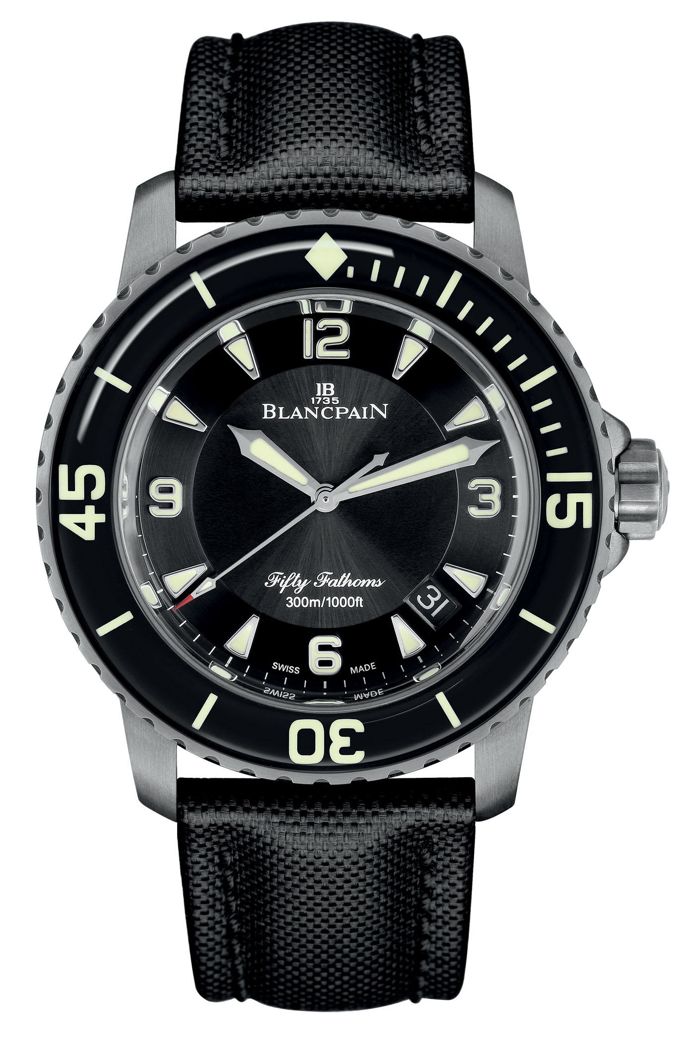Blancpain Fifty Fathoms Automatique 5015 Titanium - 2