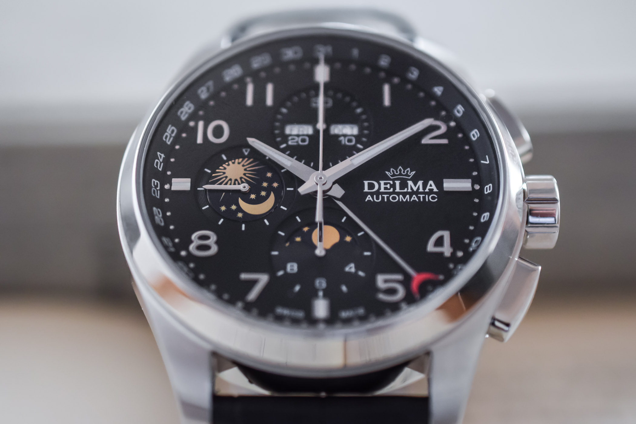 Delma Klondike Moonphase Automatic Chronograph - 2