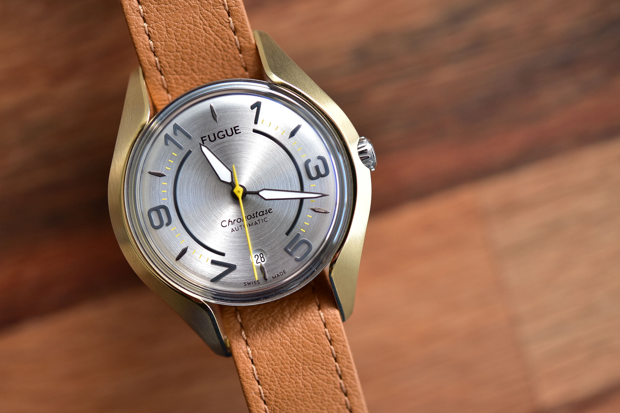 Fugue Watch Chronostase modular watch interchangeable case and strap - 5