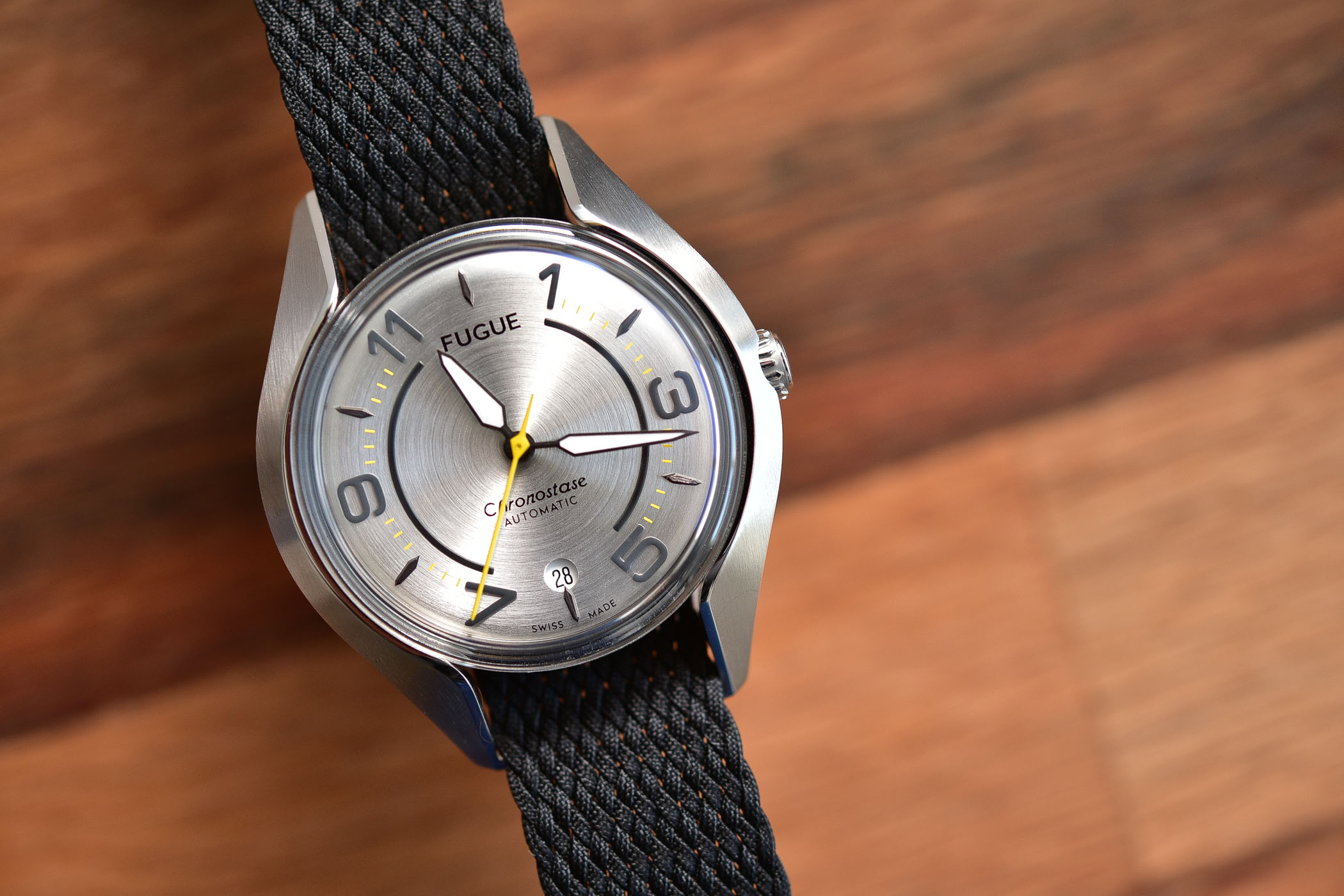 Fugue Watch Chronostase modular watch interchangeable case and strap - 6