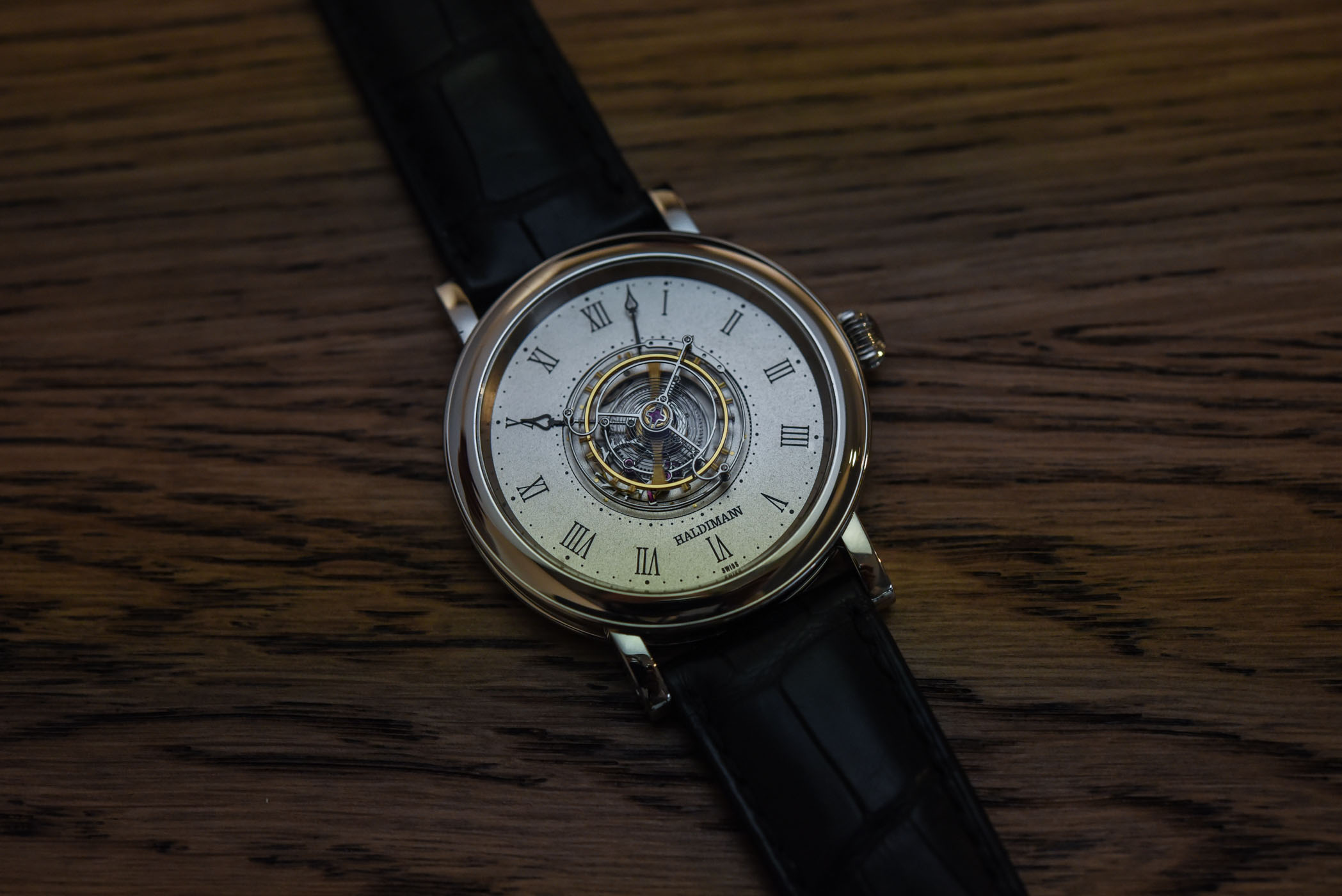 Haldiman H1 Flying Central Tourbillon