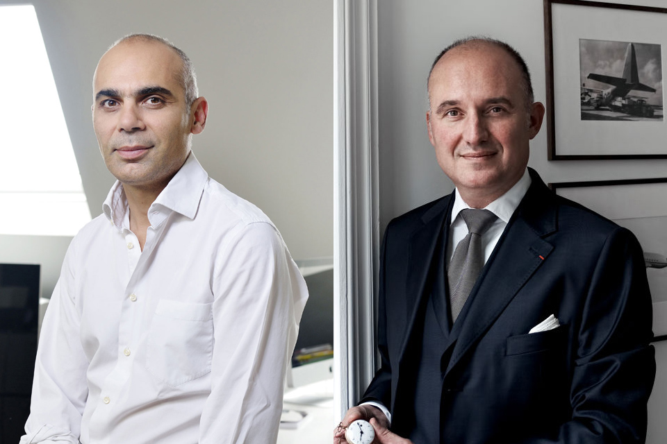 Bruno Belamich and Carlos Rosillo, co-founders of Bell & Ross