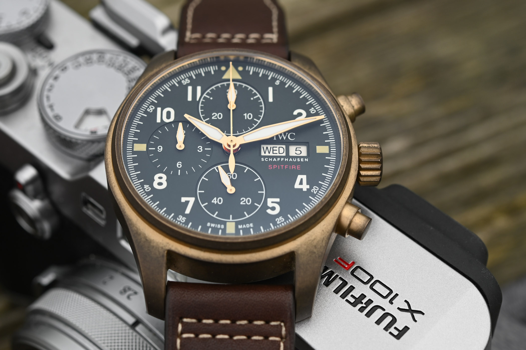 IWC Pilots Watch Chronograph Spitfire Bronze IW387902 - SIHH 2019