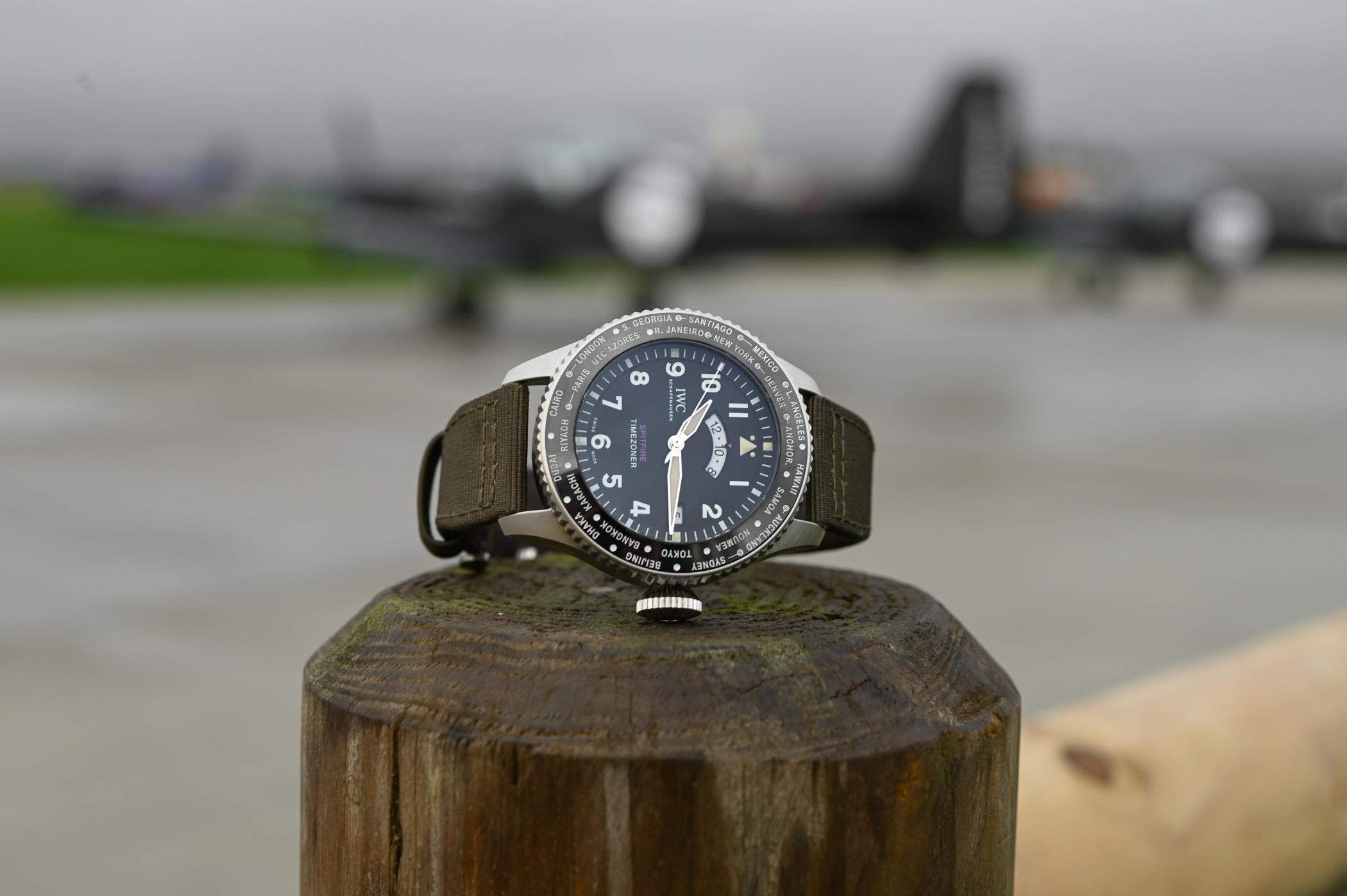 IWC Pilots Watch Timezoner Spitfire Edition The Longest Flight IW395501 - SIHH 2019