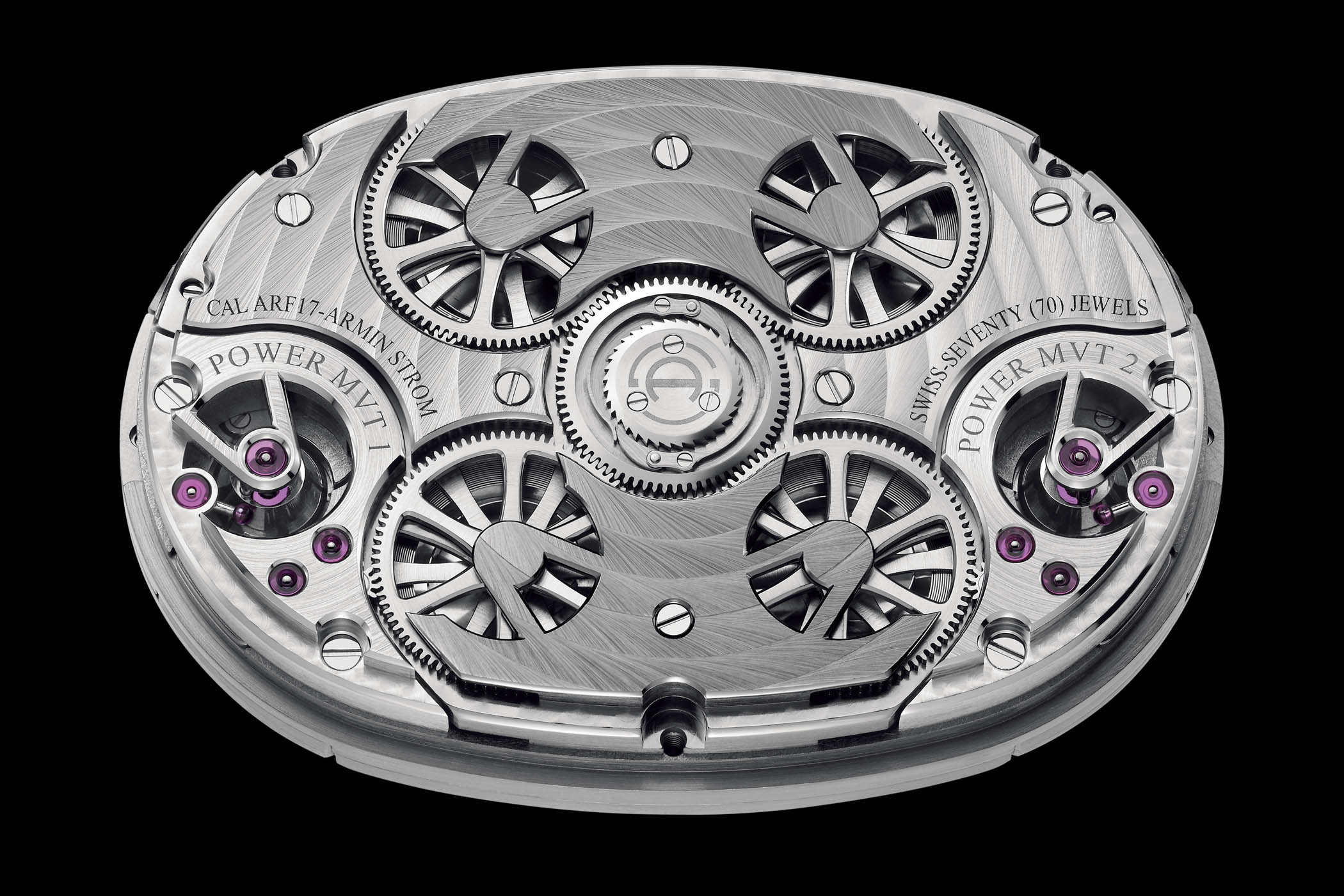 Pre-SIHH 2019 - Armin Strom GMT Resonance Rose and White Gold - 3