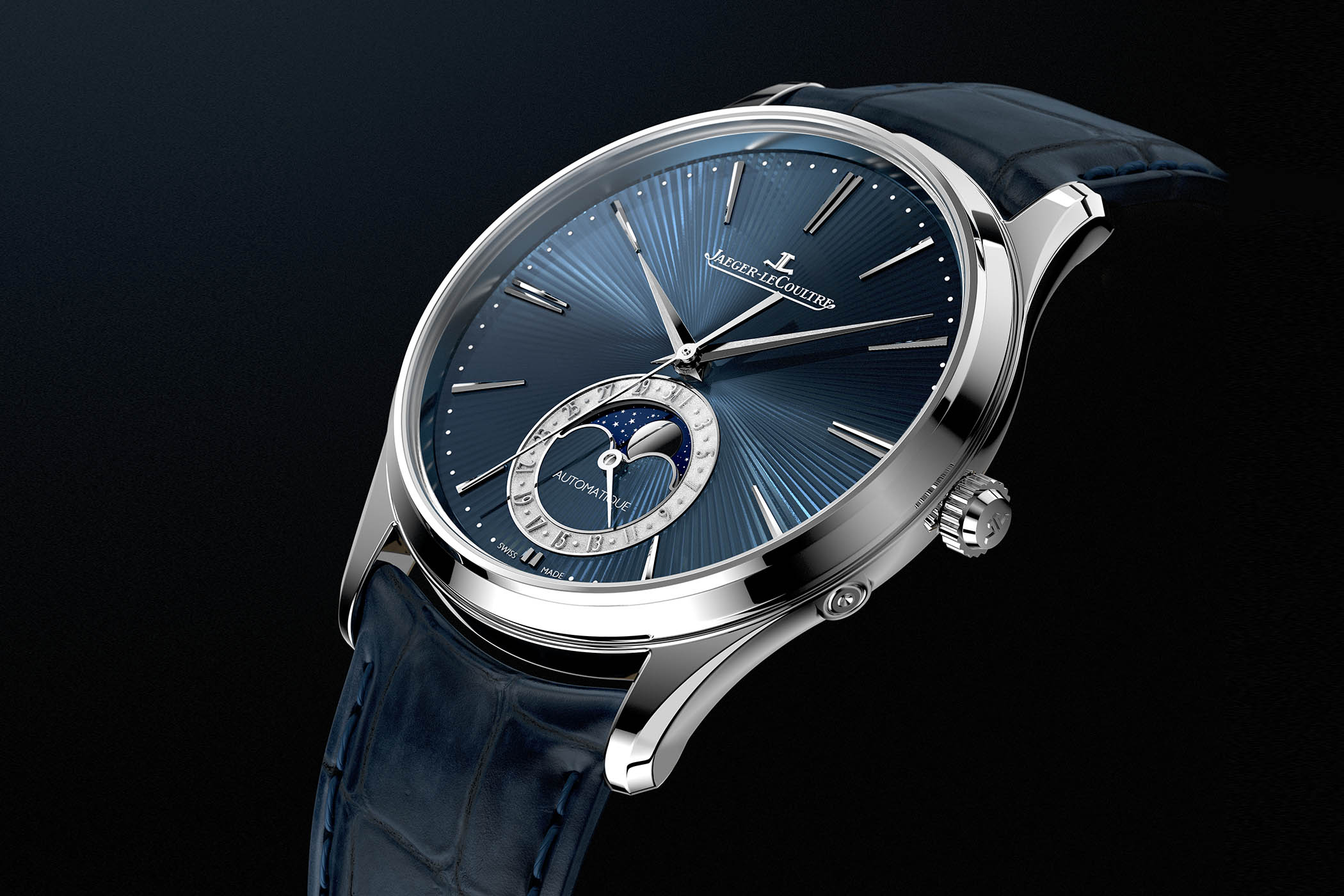 SIHH 2019 - Jaeger-LeCoultre Master Ultra-Thin Moon Enamel