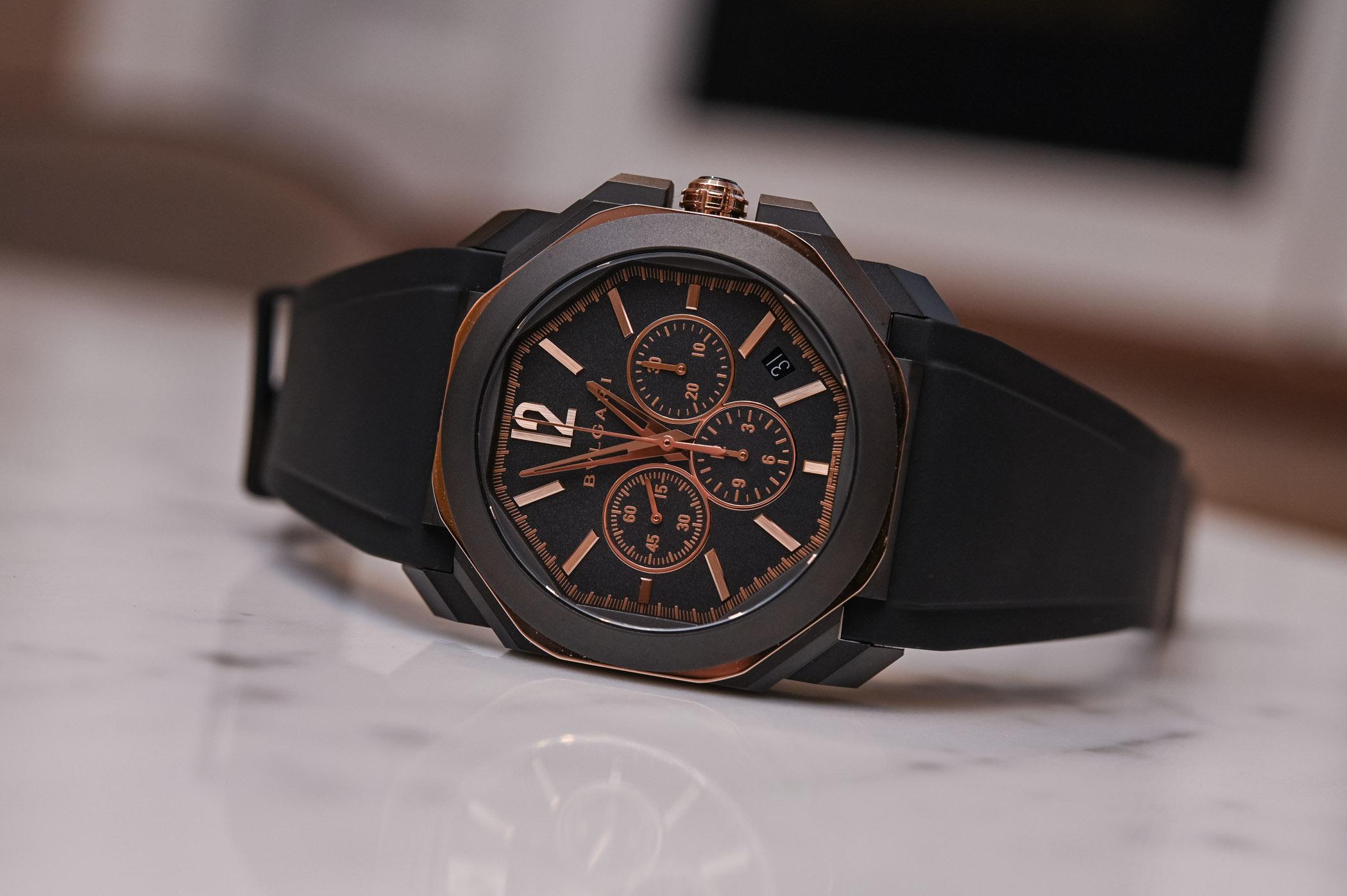 Bvlgari Octo L'Originale black-and-gold 2019 collection