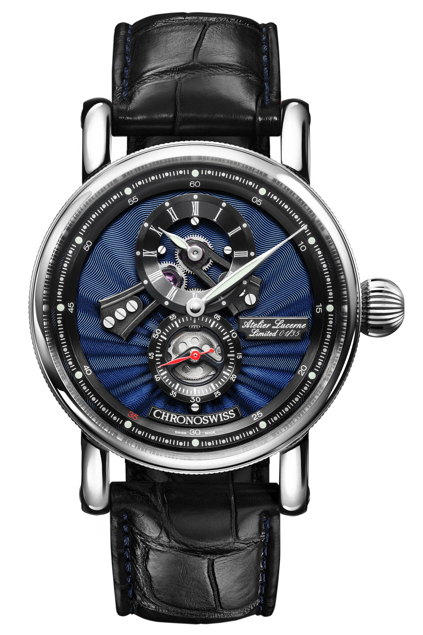 Chronoswiss Flying Regulator Open Gear Anniversary Edition 2019