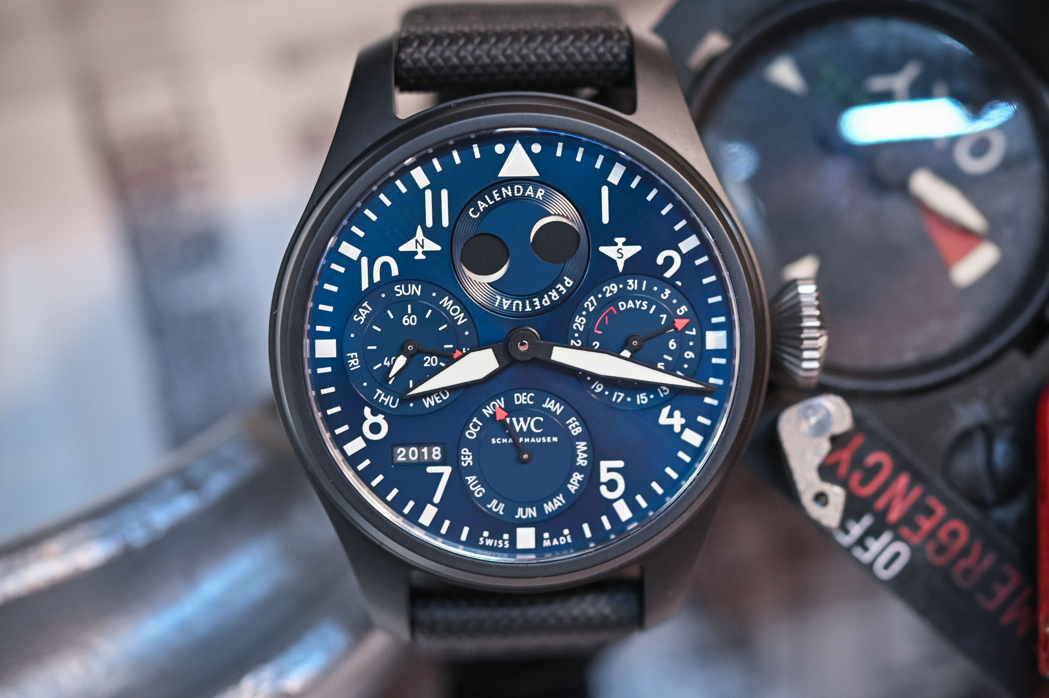 IWC Big Pilot's Watch Perpetual Calendar Edition Rodeo Drive IW503001