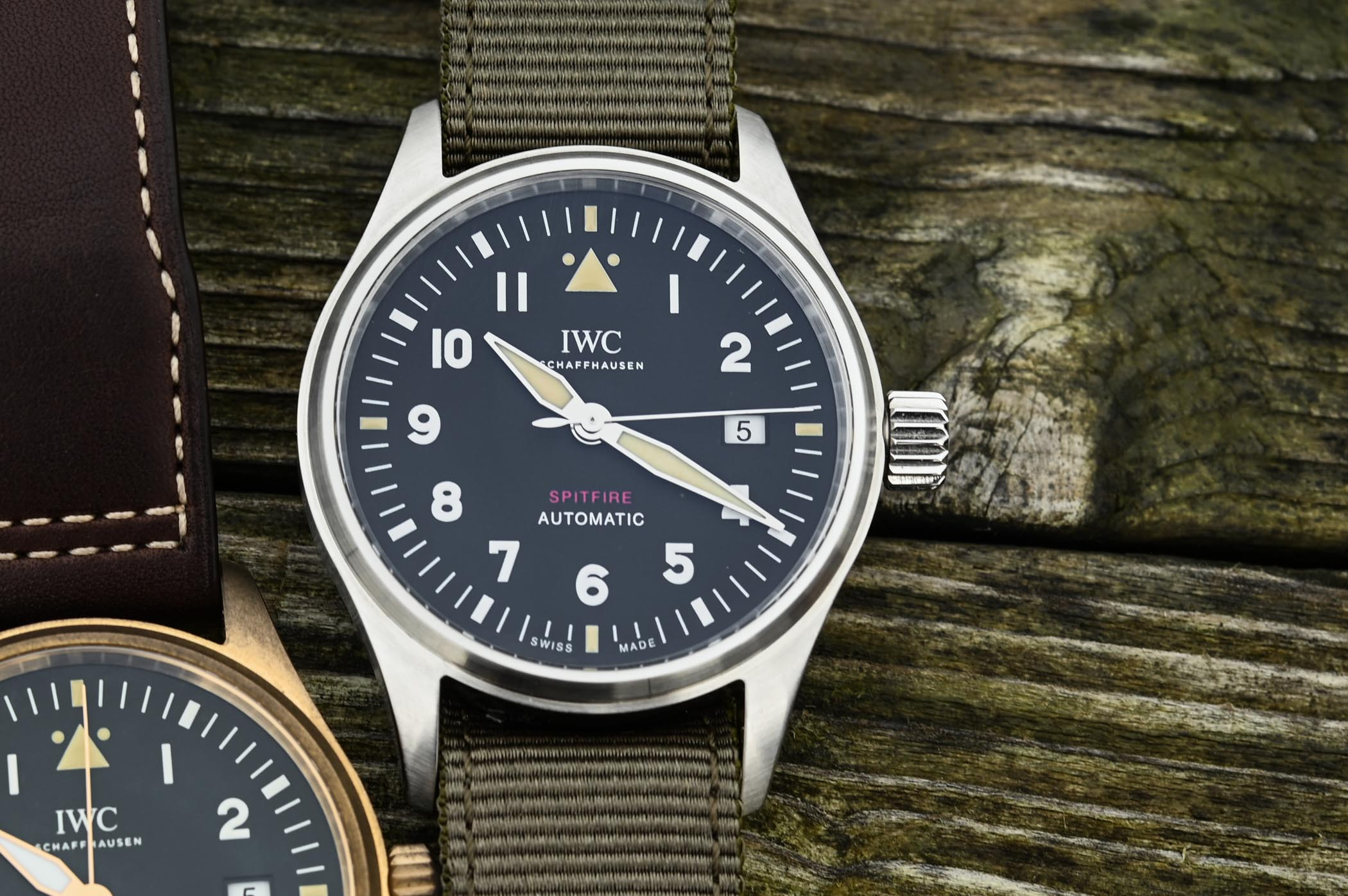 a91ba81f9ca SIHH 2019 - IWC Pilot s Watch Automatic Spitfire IW326801 and ...