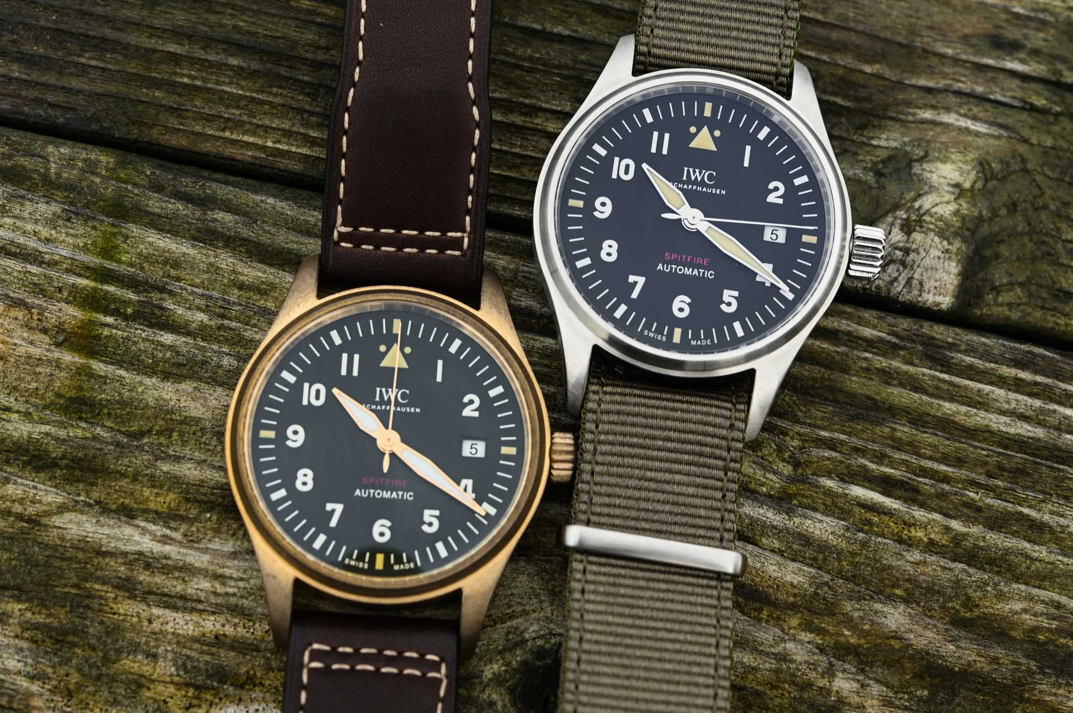 IWC Pilot's Watch Automatic Spitfire IW326801 IW326802 - SIHH 2019 - 3