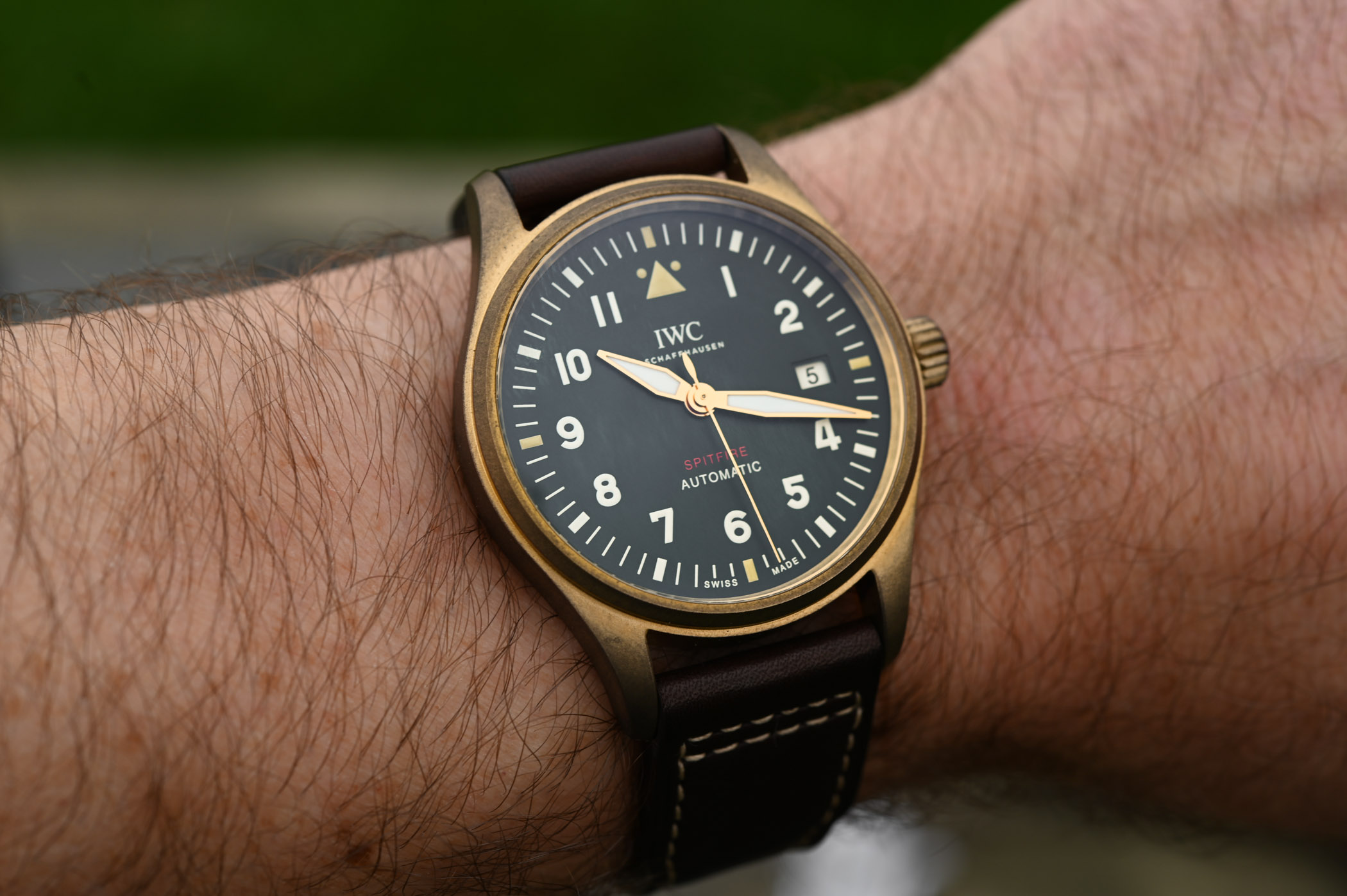 IWC Pilot's Watch Automatic Spitfire IW326801 IW326802 - SIHH 2019 - 6