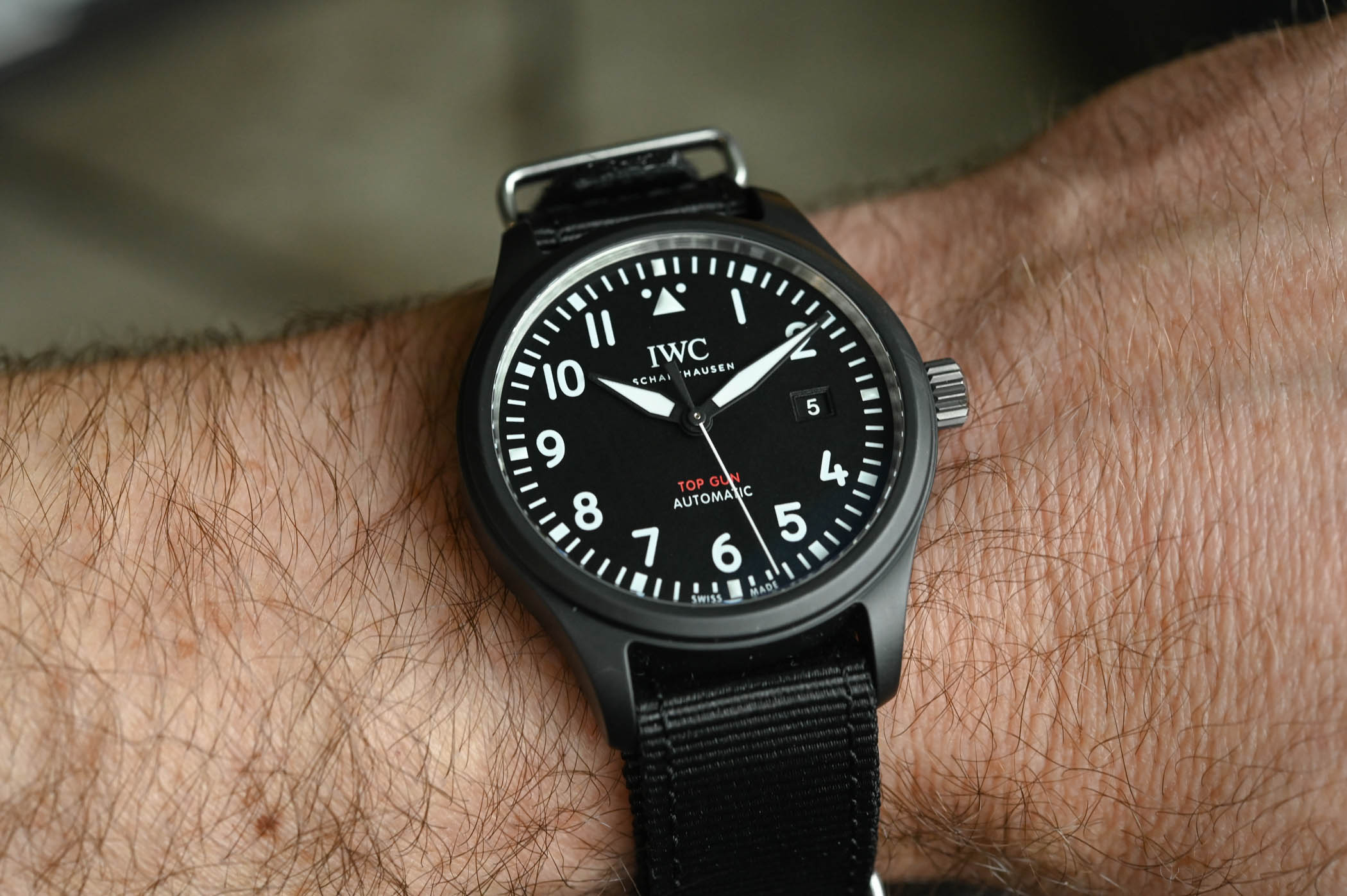 IWC Pilot's Watch Automatic TOP GUN IW326901 - SIHH 2019 - 3