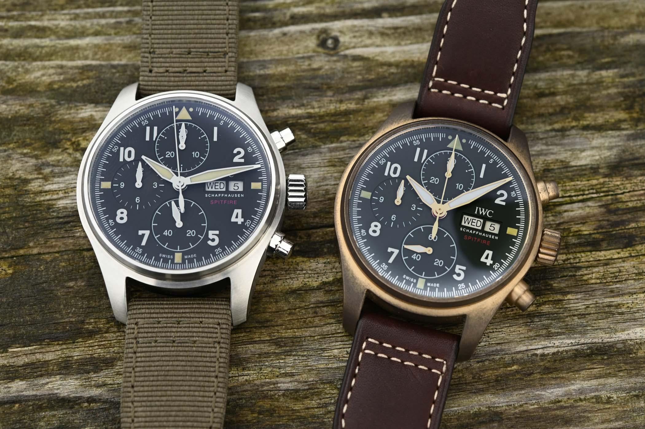 IWC Pilot's Watch Chronograph Spitfire Steel 41mm IW387901 - SIHH 2019 - 4