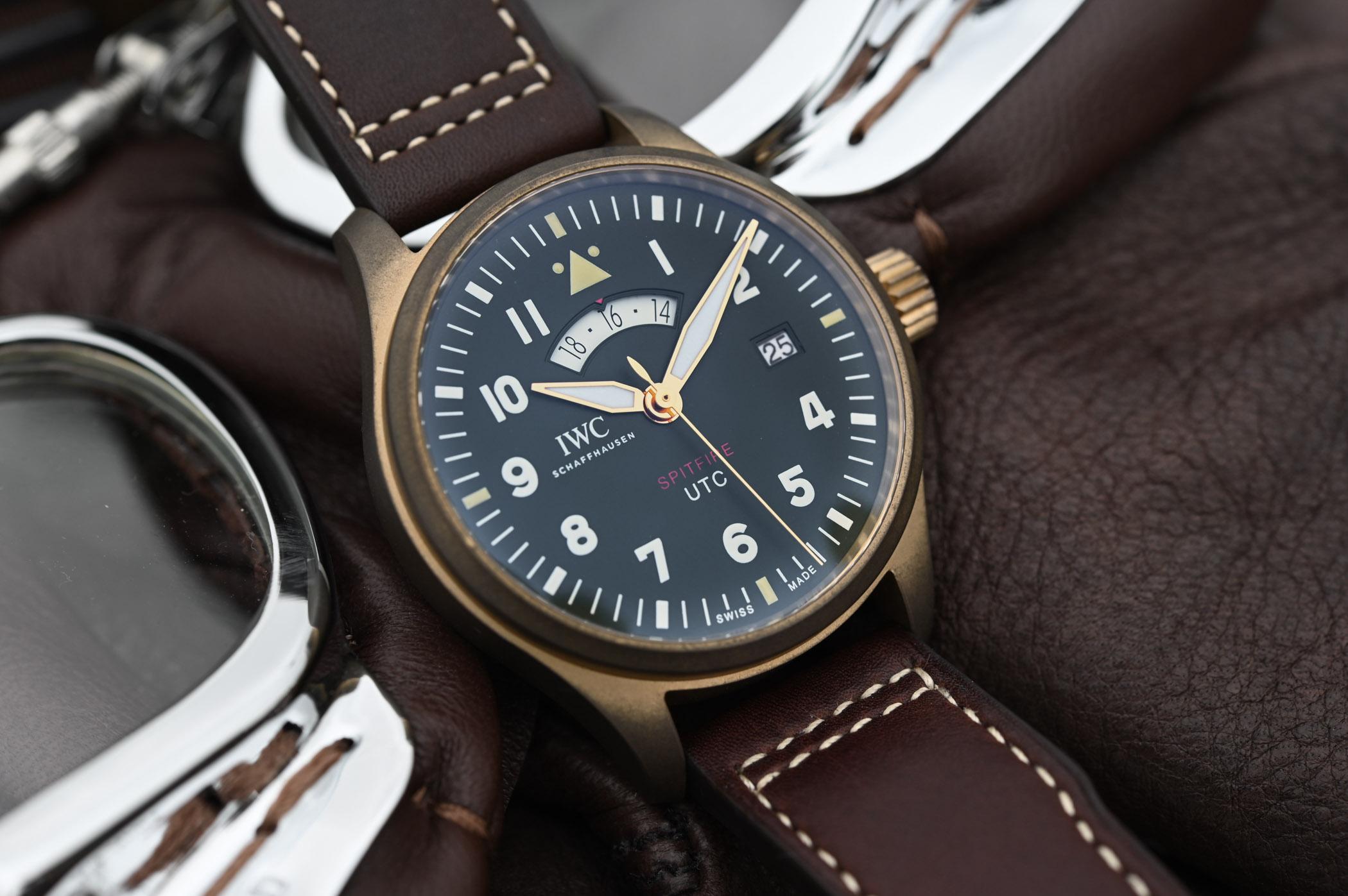 """IWC Pilot's Watch UTC Spitfire Edition """"MJ271"""" ref  IW327101"""