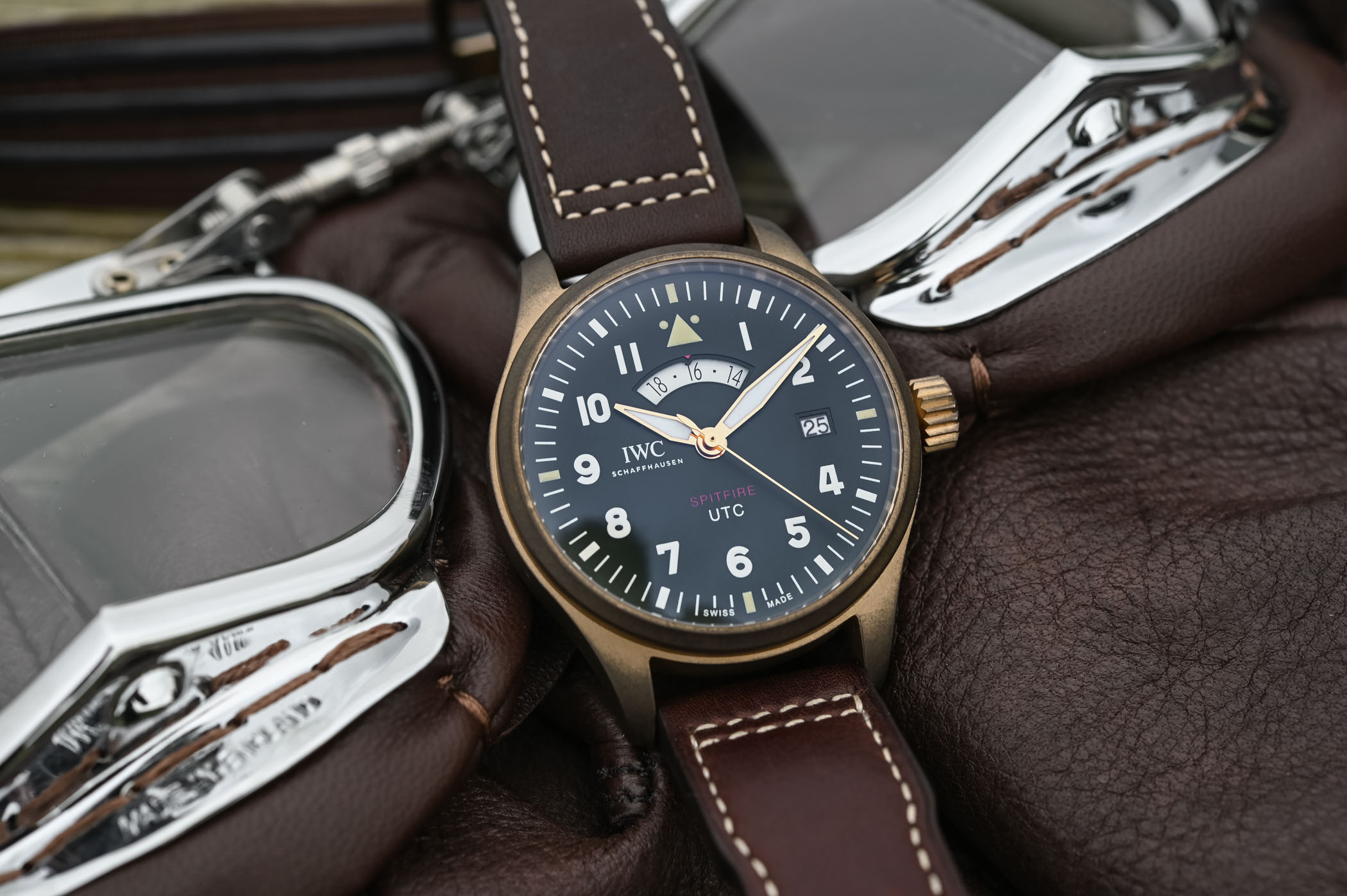 iwc pilot u2019s watch utc spitfire edition  u201cmj271 u201d ref