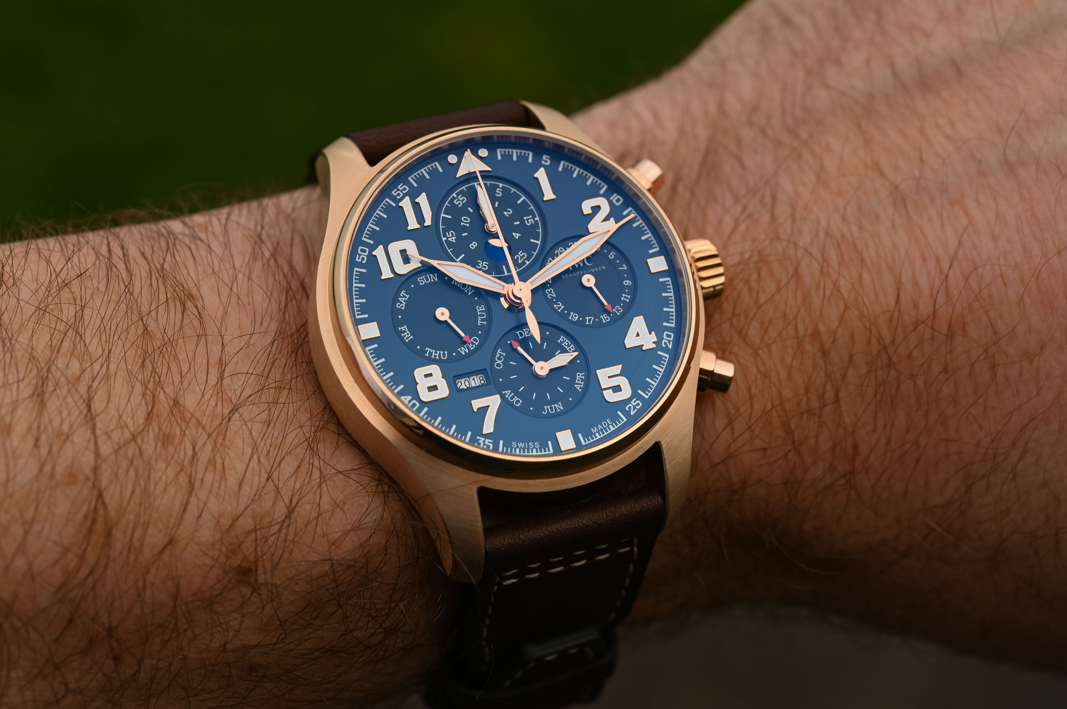IWC Pilots Watch Perpetual Calendar Chronograph Le Petit Prince IW392202 - SIHH 2019 - 5