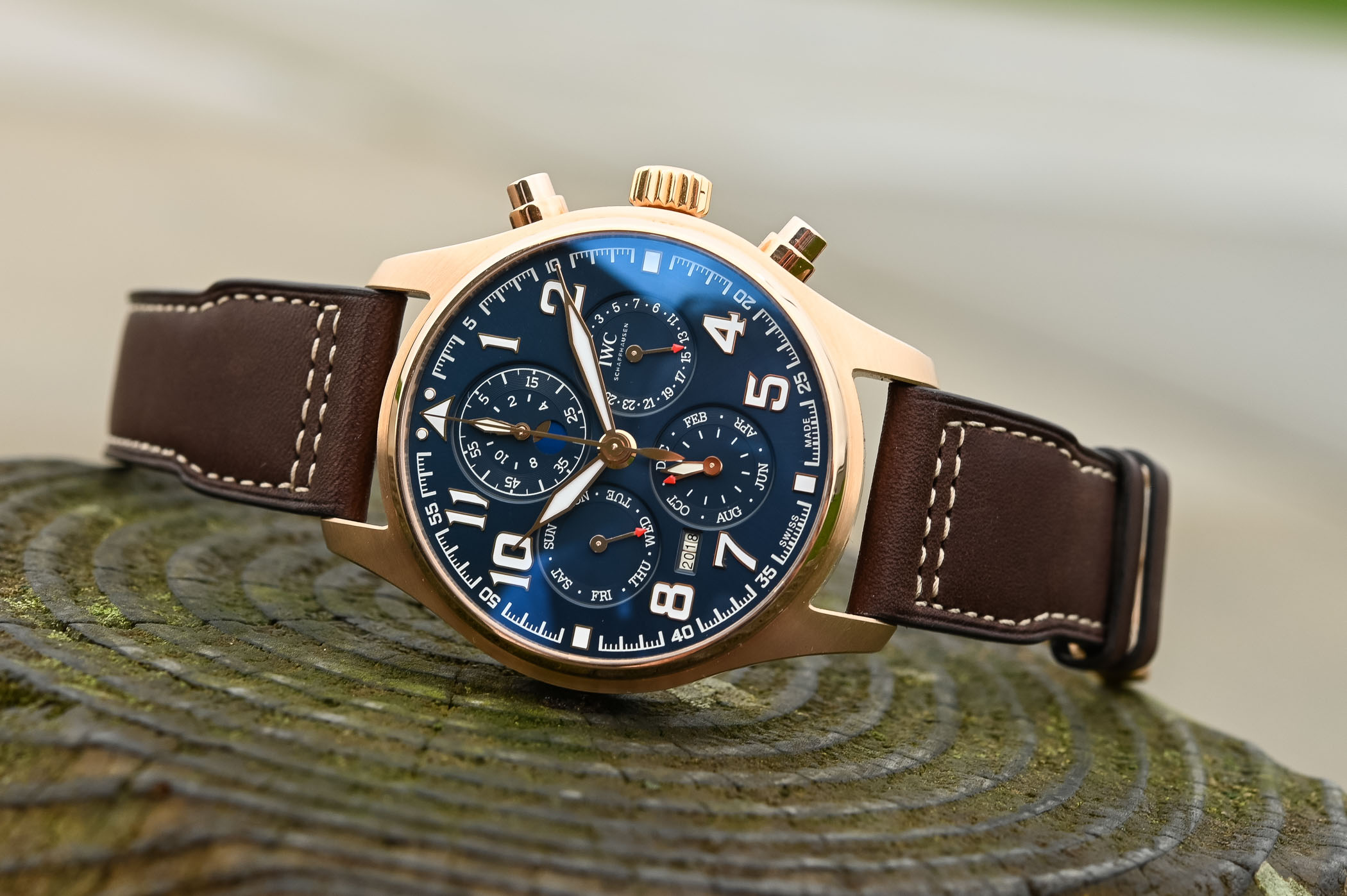 IWC Pilots Watch Perpetual Calendar Chronograph Le Petit Prince IW392202 - SIHH 2019 - 6