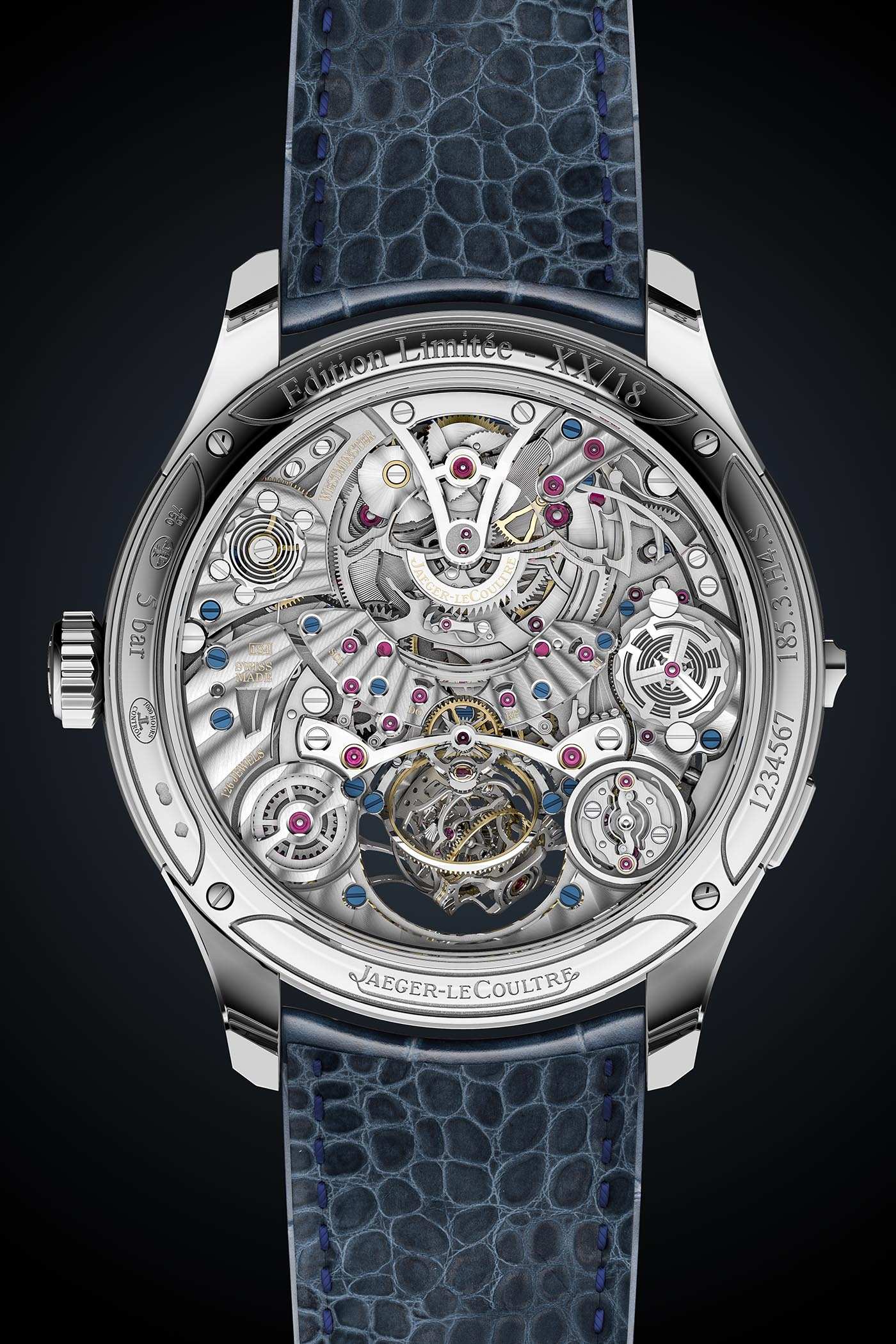 Jaeger-LeCoultre Master Grande Tradition Gyrotourbillon Westminster Perpetuel - SIHH 2019 - 2