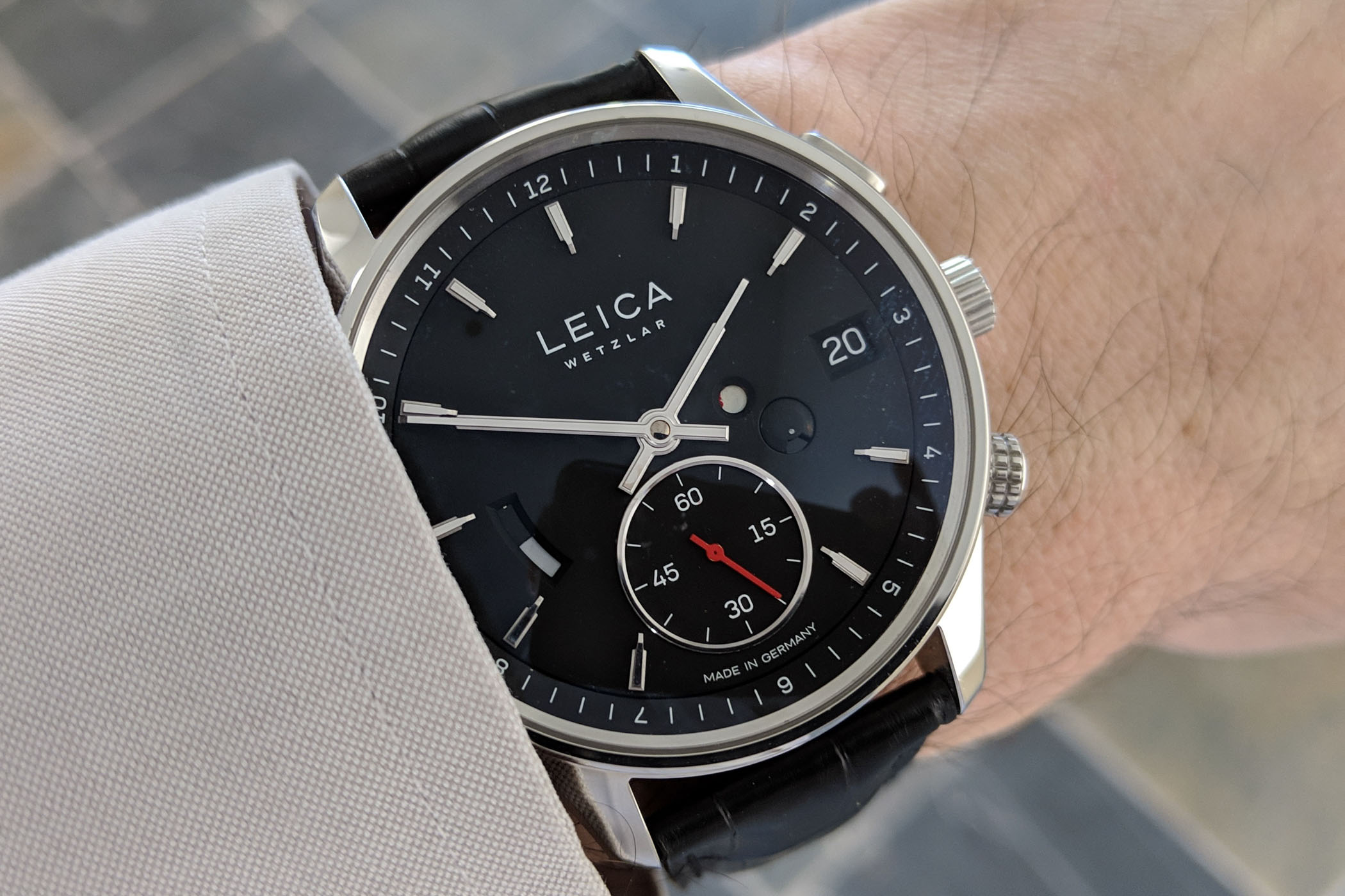 Leica Watch L1 and L2 Review - 1