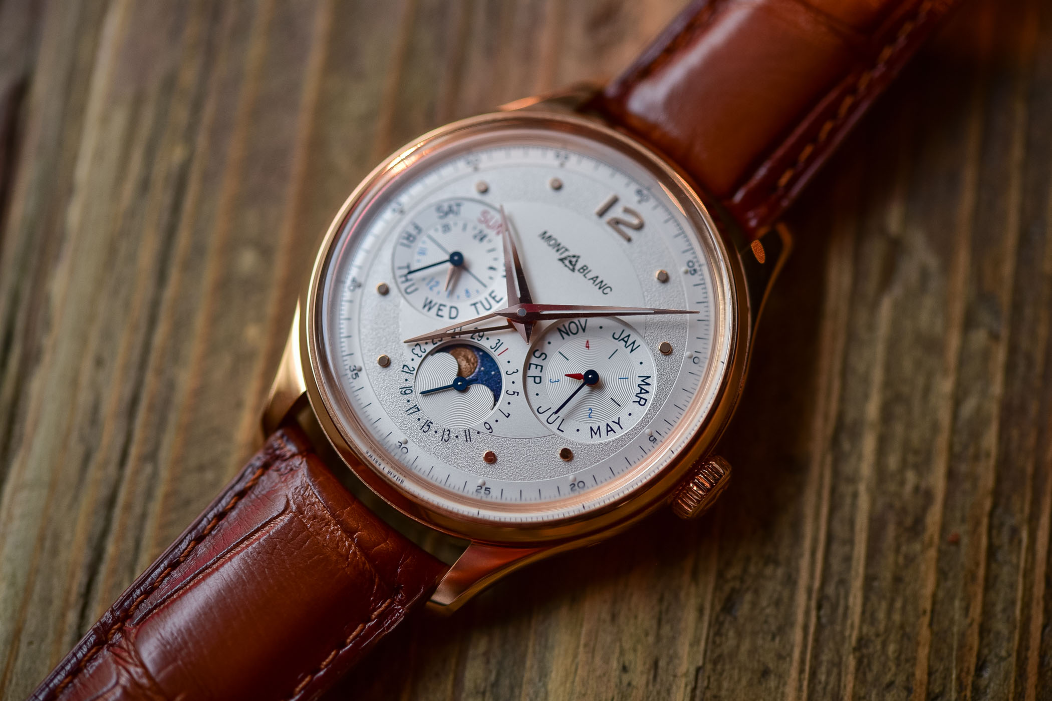 Montblanc Heritage Manufacture Perpetual Calendar LE100 - SIHH 2019