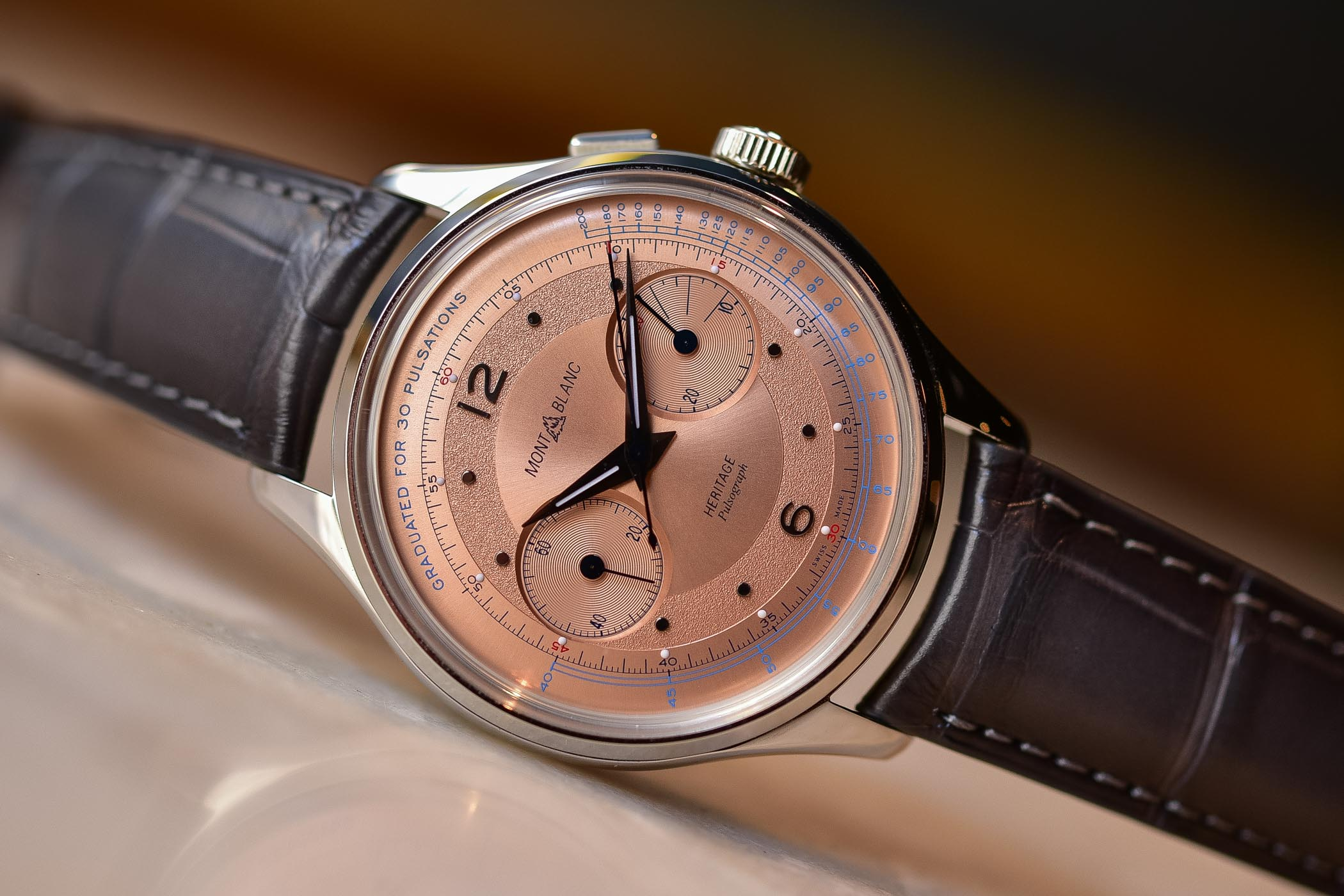Montblanc Heritage Pulsometer SIHH 2019