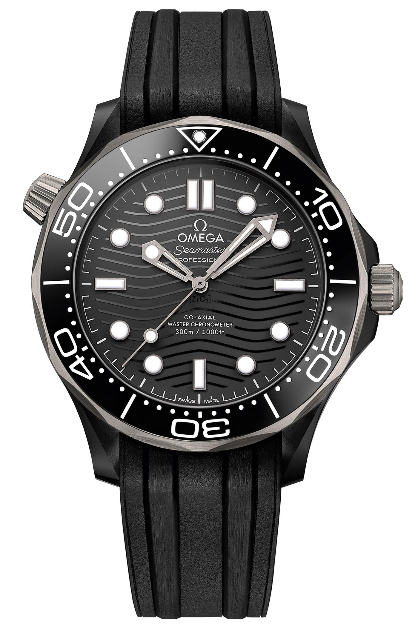Omega Seamaster Diver 300M Ceramic-and-Titanium 210.92.44.20.01.001 collection 2019