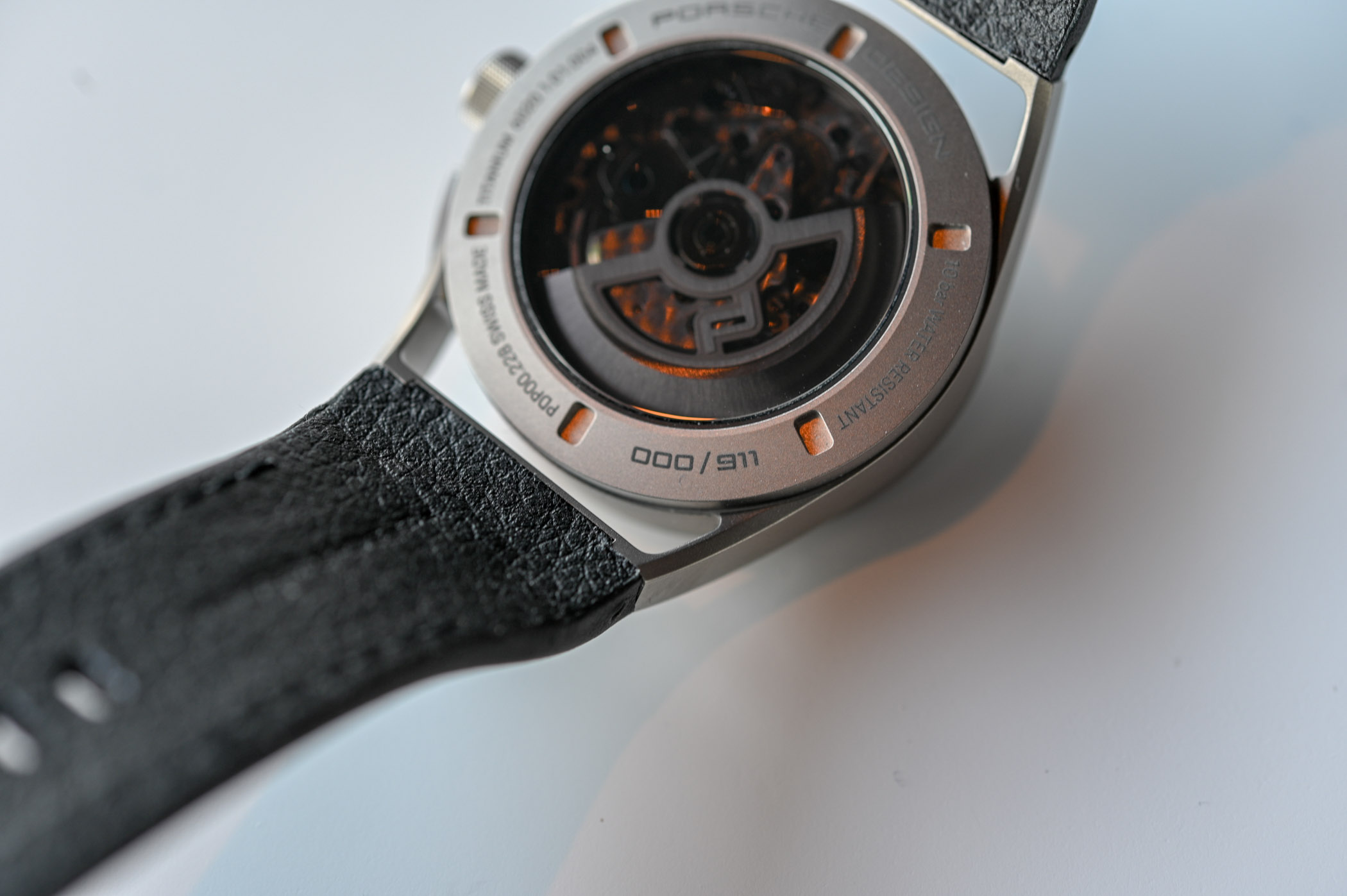 porsche design 911 timeless machine chronograph