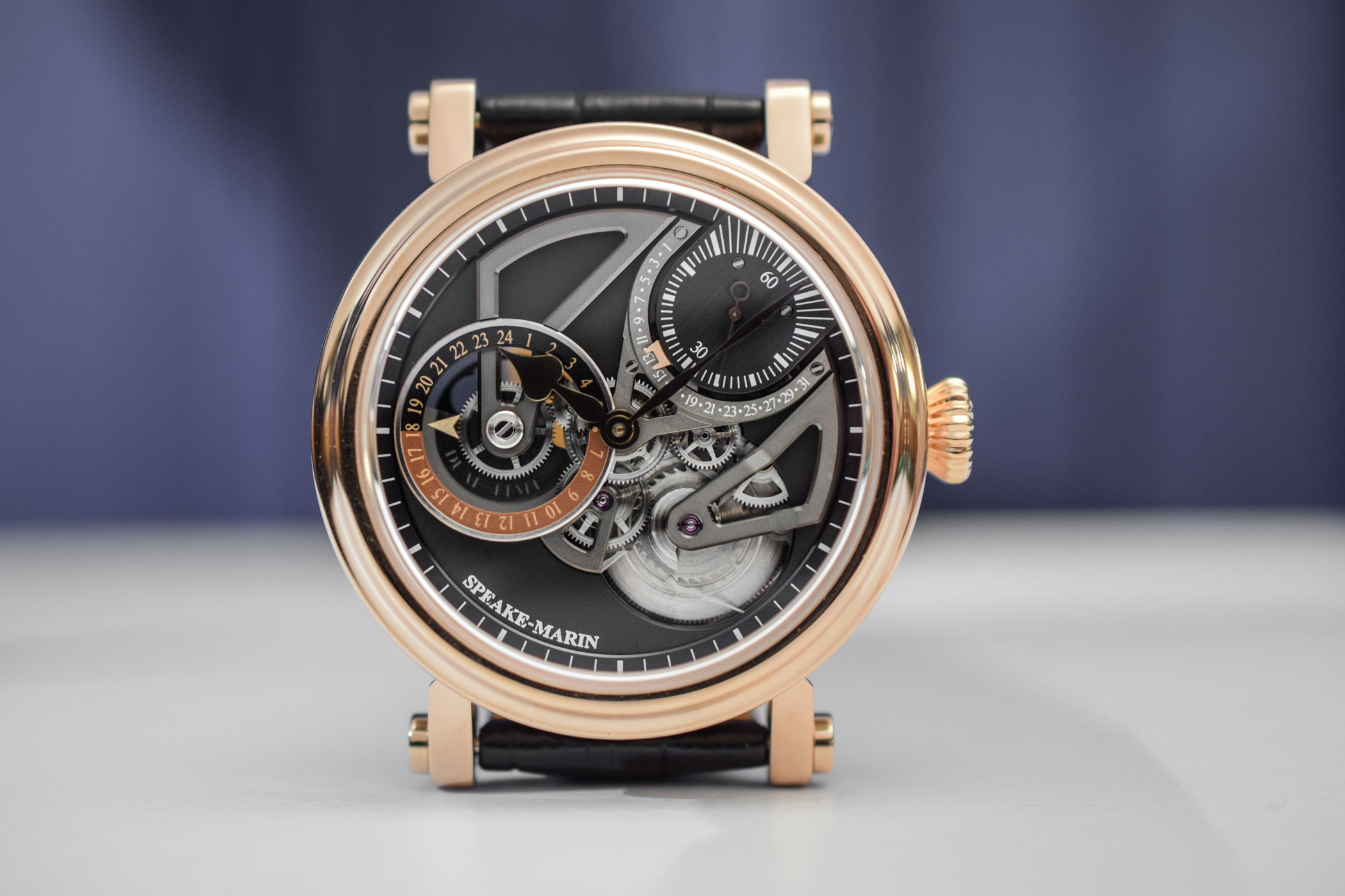 ef16be252c61 Hands-On - Speake-Marin One Two Openworked Dual Time (Specs   Price)