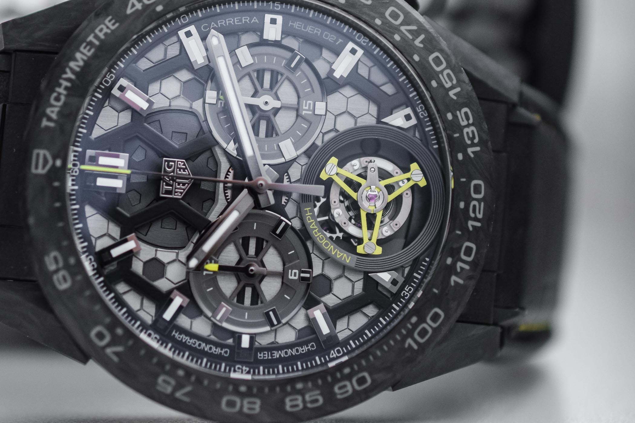 TAG Heuer's solution is based on a complex