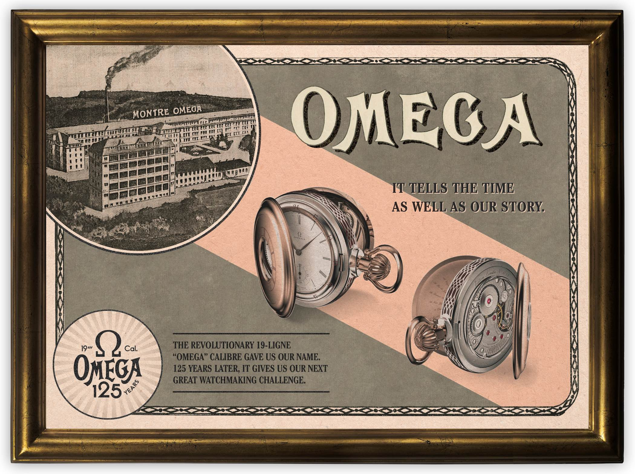 The Reborn Pocket Watch 19-ligne calibre Omega 125th anniversary - 1