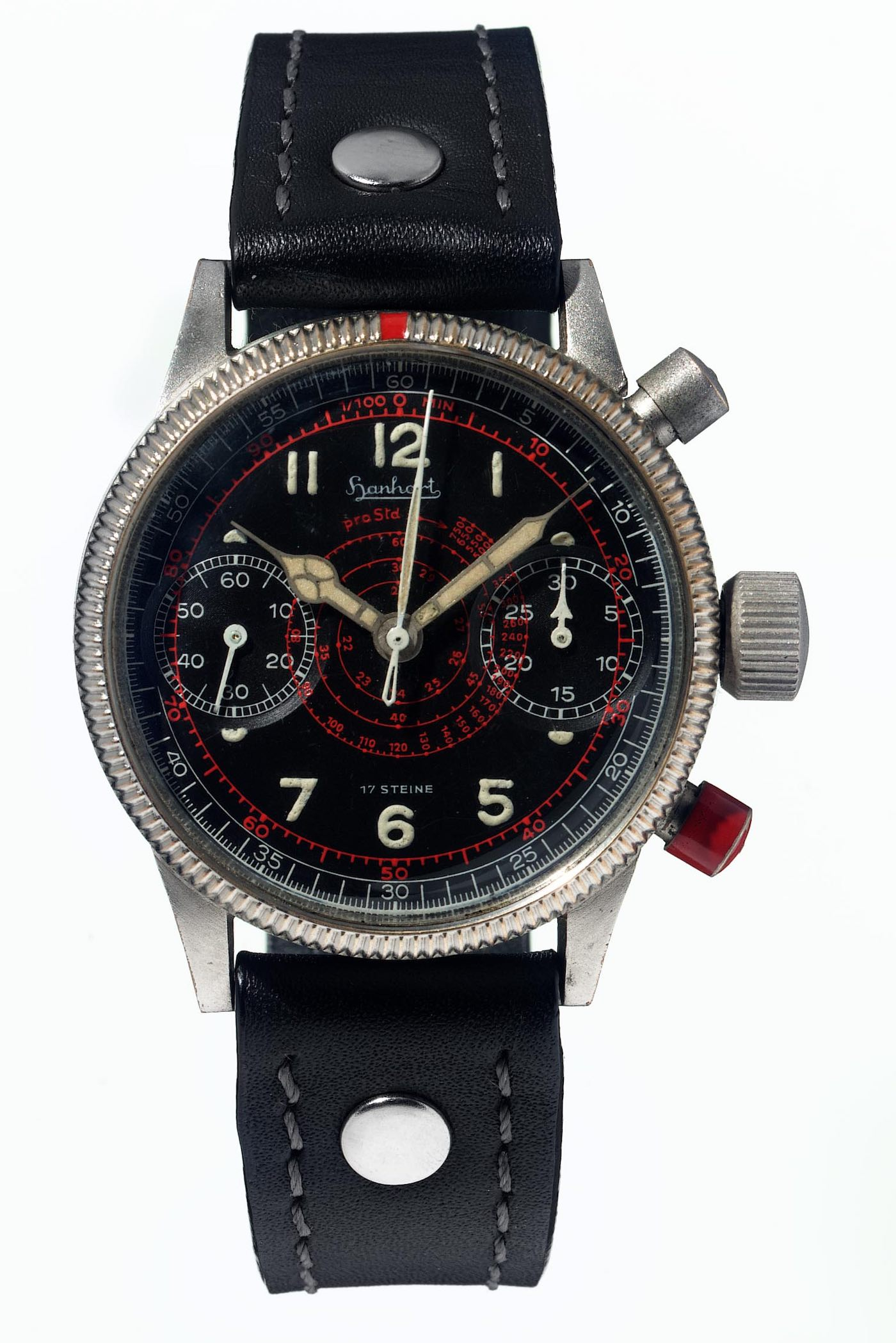 vintage hanhart flieger chronograph