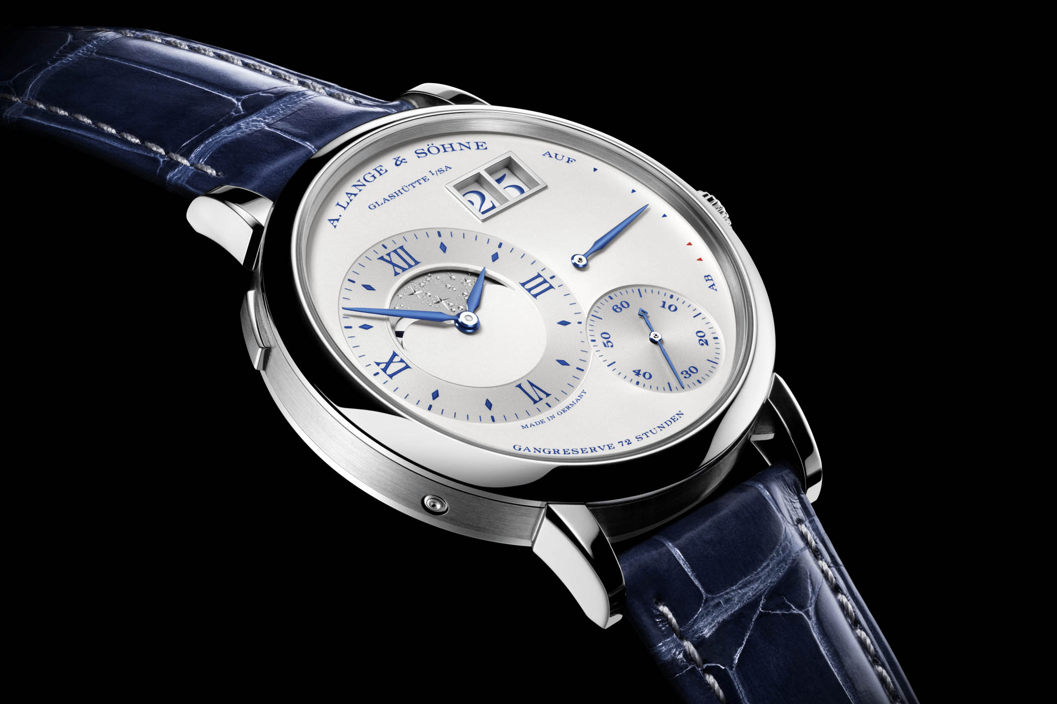 A Lange Sohne Grand Lange 1 Moon Phase 25th anniversary