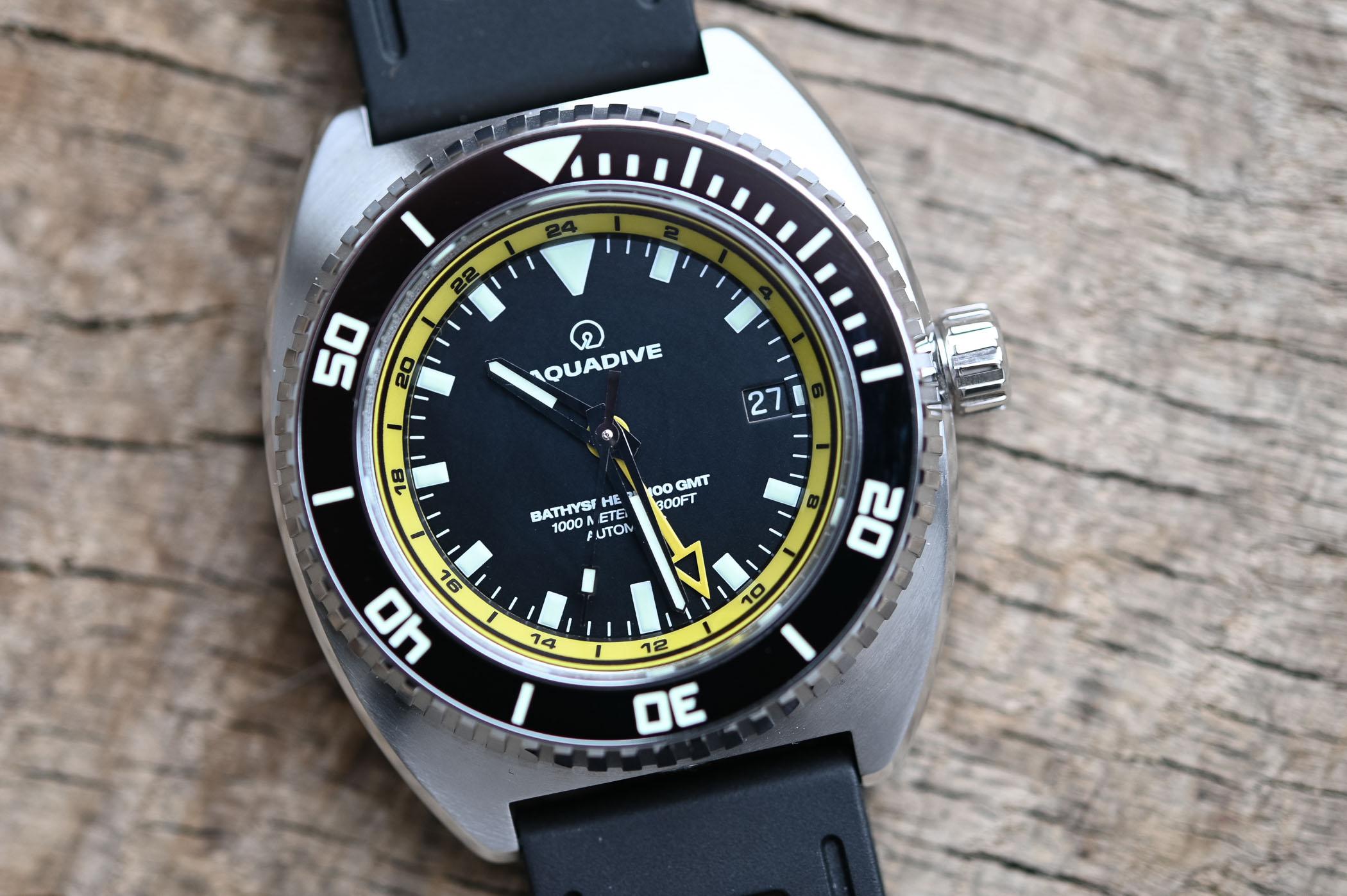 Aquadive Bathyscaphe 100 GMT