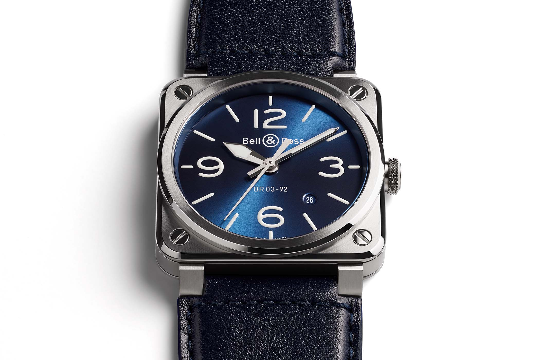 04a9ef7a9 Introducing - Bell & Ross BR 03-92 Blue Steel (Specs & Price)