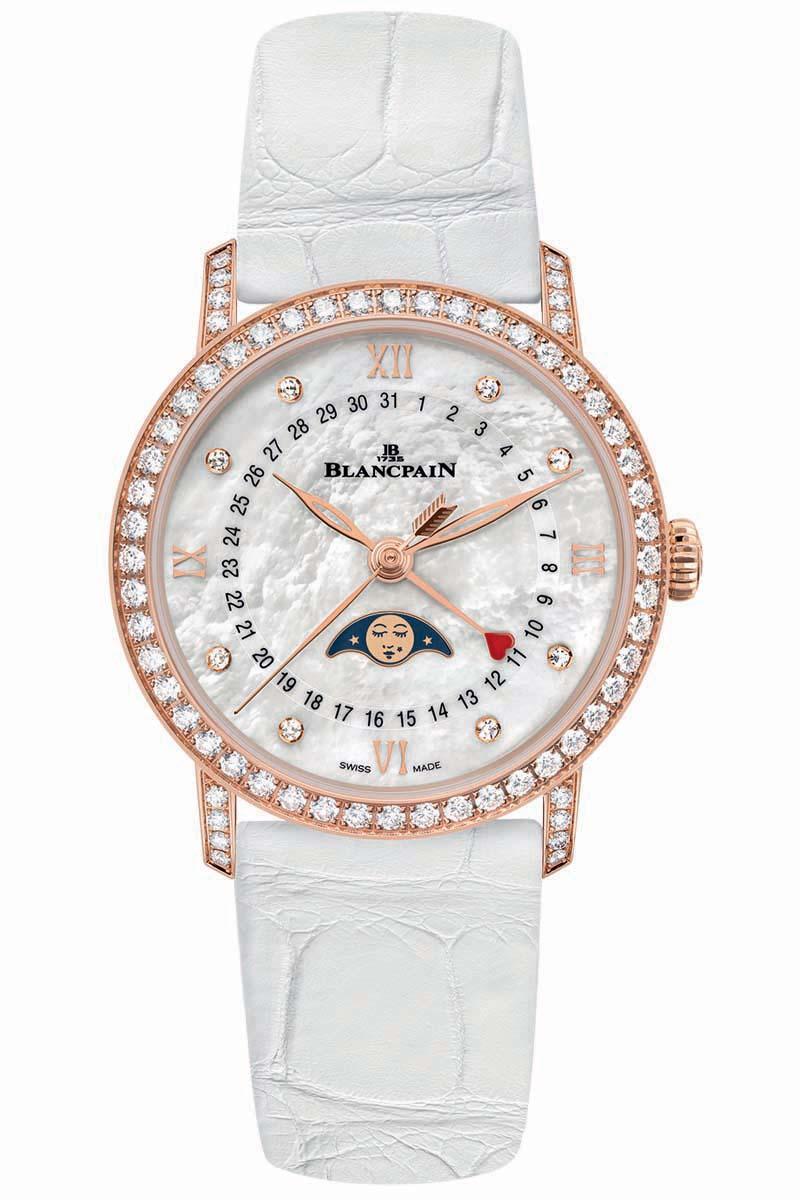 Blancpain Villeret Women Quantieme Phases de Lune - 12